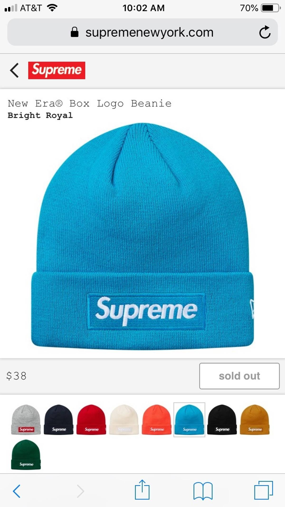 d91217591d2d4 Supreme Supreme New Era Beanie Size one size - Hats for Sale - Grailed