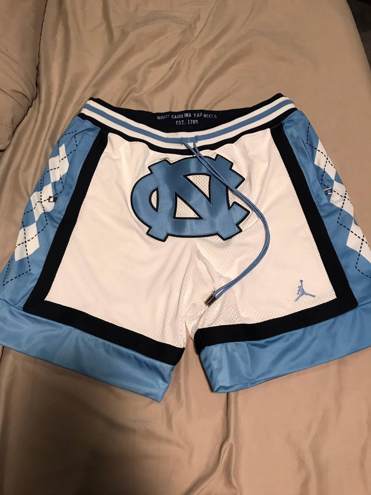 Jordan Brand × Just Don Just Don X Jumpan Unc Basketball Shorts Size 33 $350