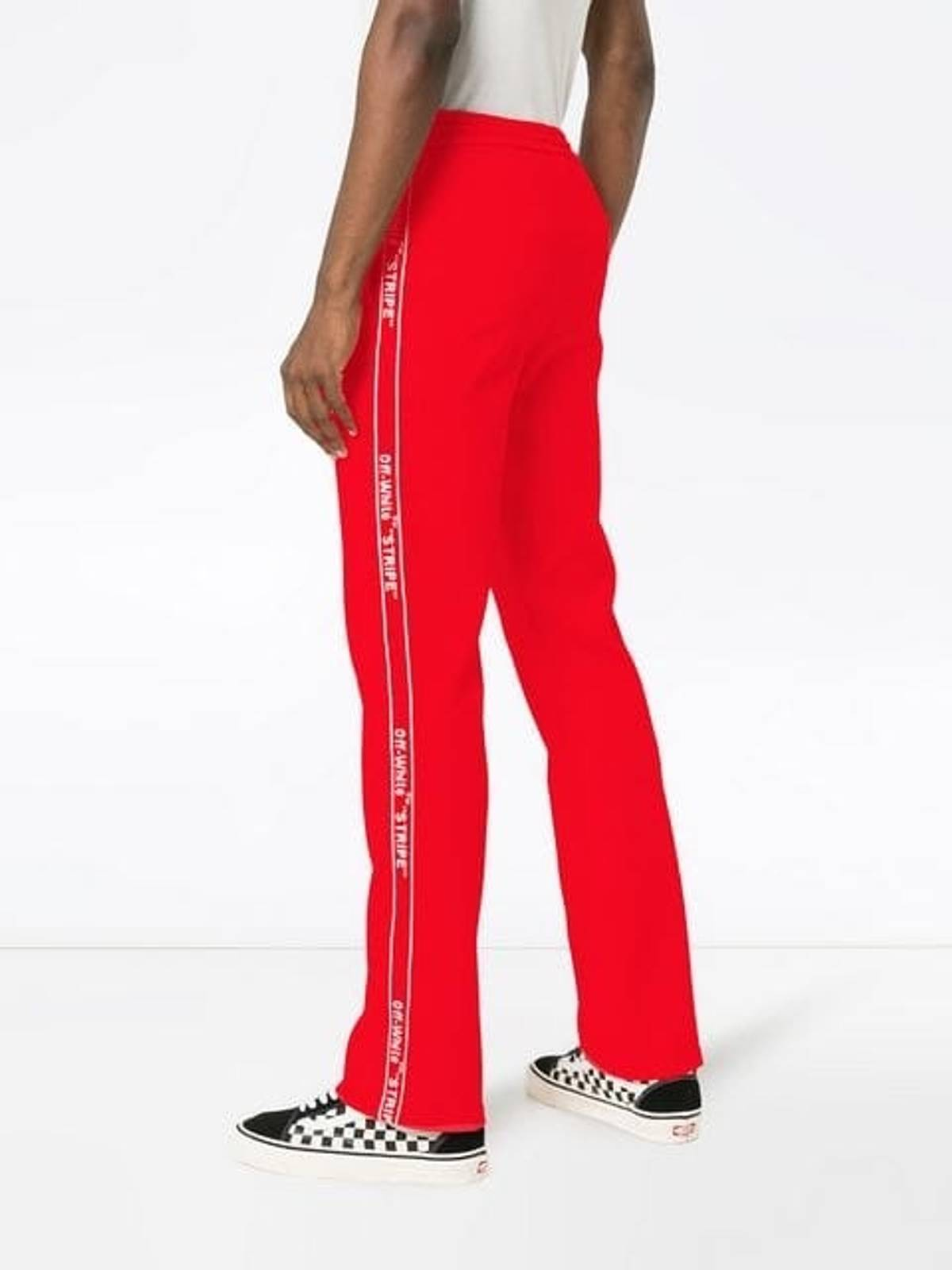 2019 real luxury enjoy discount price Off White Off White Red Sweatpants Size 40 $210