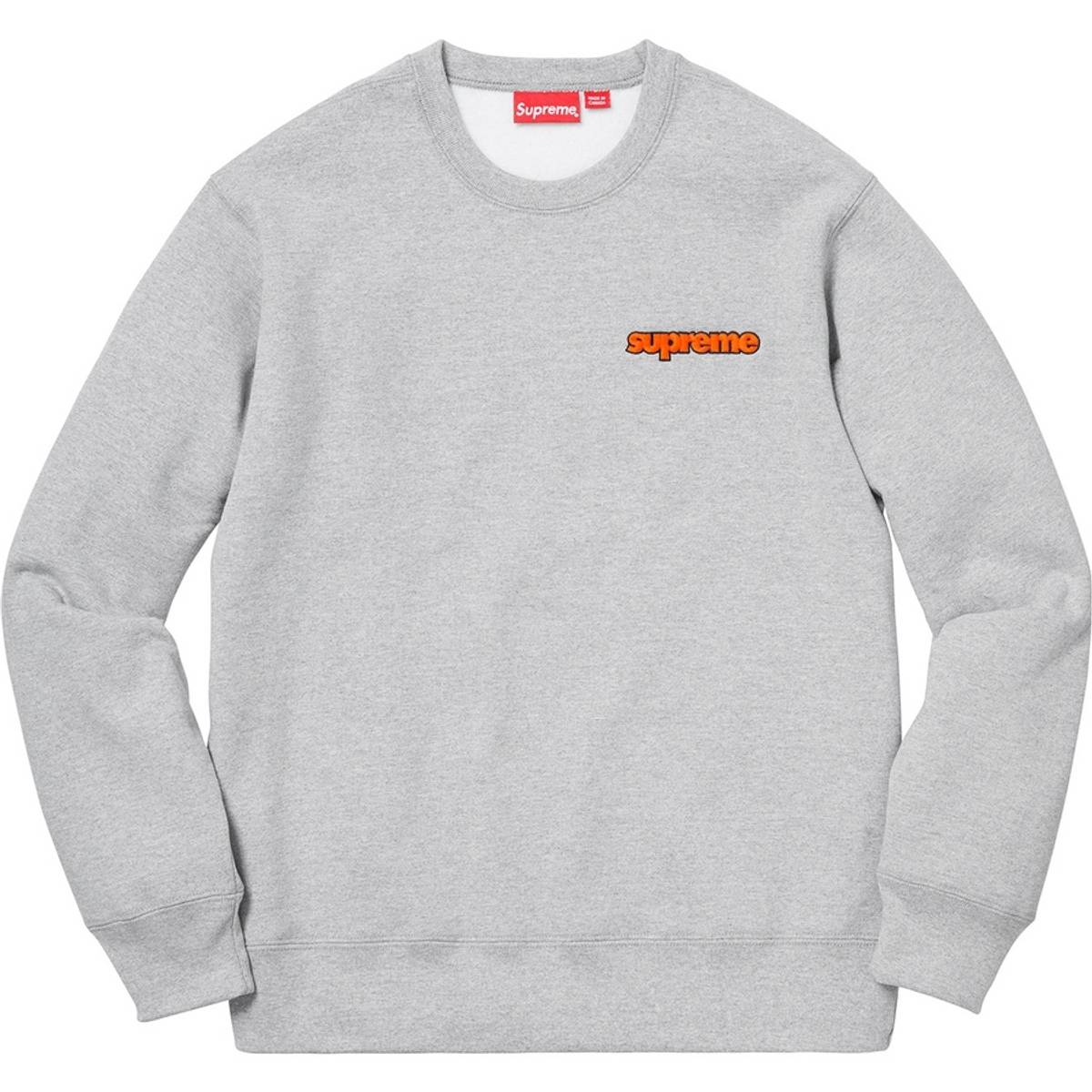 c0ba5d6b8d2 Supreme Supreme Connect Crewneck Sweatshirt   Heather Grey   Medium   Week  4 FW18 Size m - Sweatshirts   Hoodies for Sale - Grailed