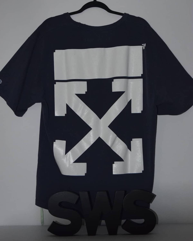 10345b4d Off White Champion T Shirt Black - raveitsafe