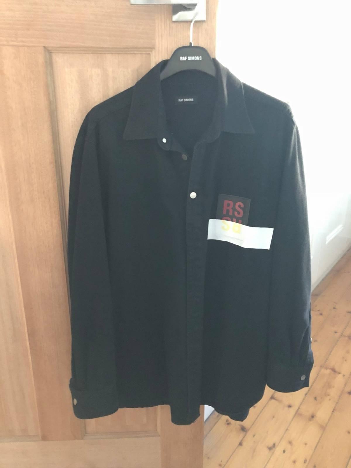 883f878a22 Raf Simons Ss17 Carry Over Denim Shirt