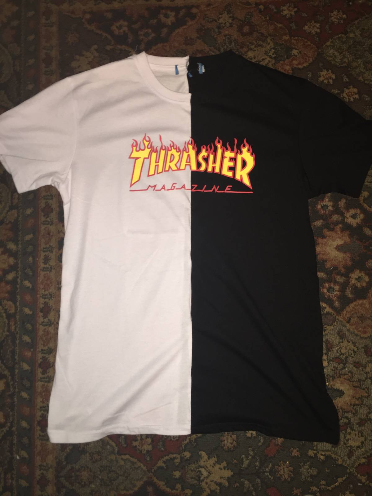 500d3de96adc Thrasher T Shirt Crop Top