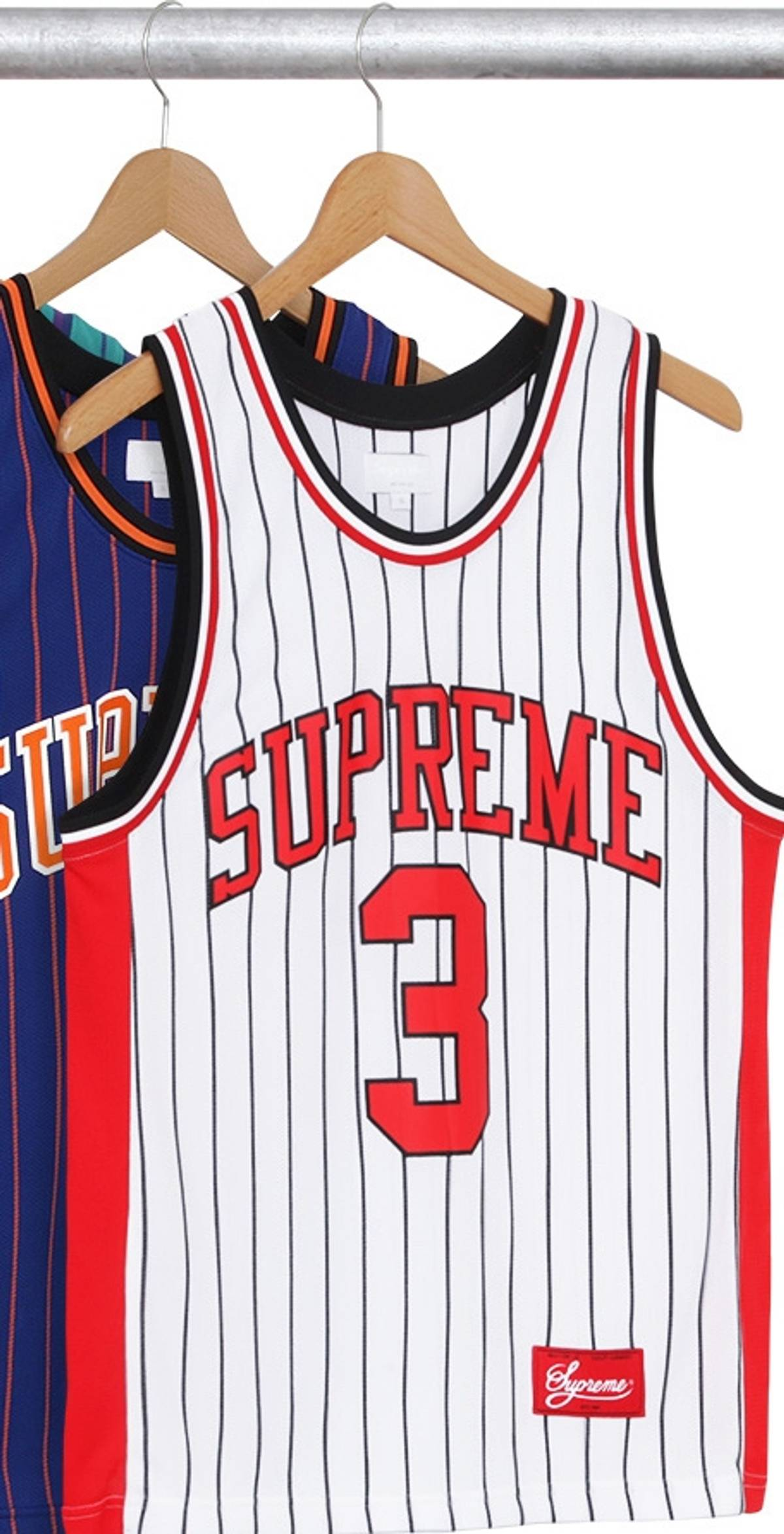 ce092d05b14 Supreme Crossover Basketball Jersey (white/red) | Grailed