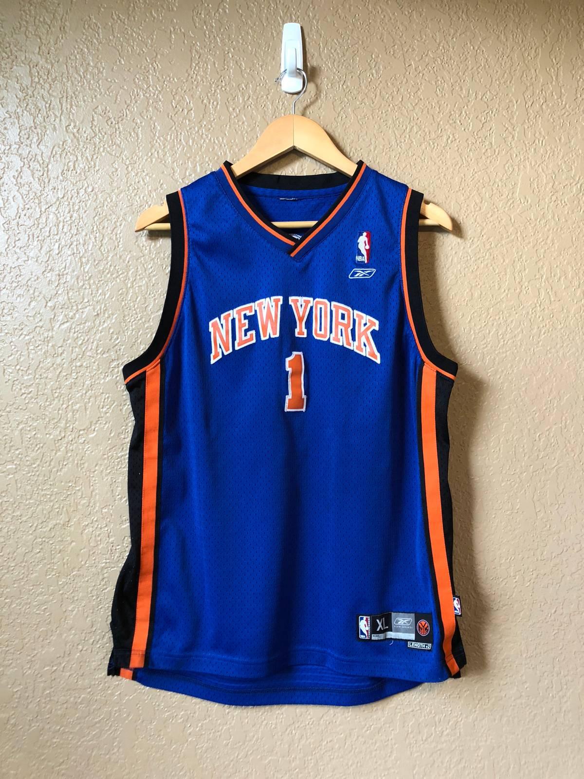 the best attitude 57c5b 1fdad Nba × Reebok × Vintage 2000s Steve Francis New York Knicks Jersey Size S $1
