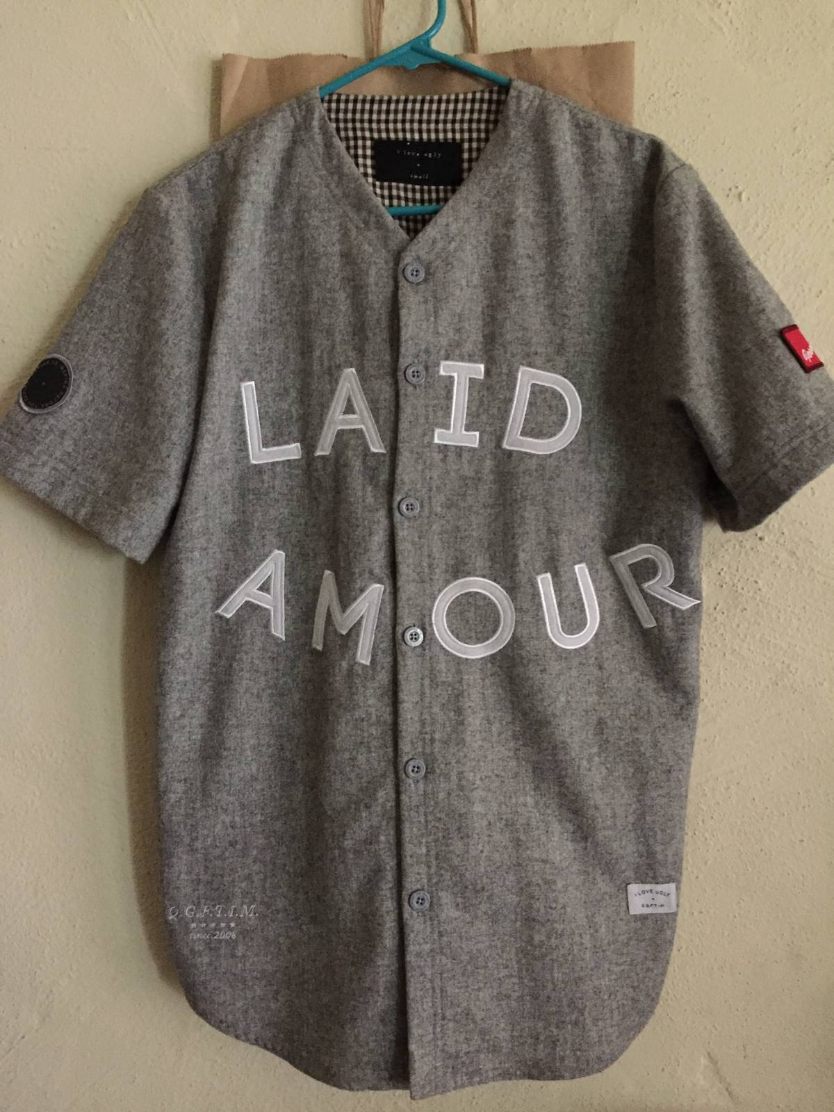 a7006449f34 I Love Ugly Sosa Laid Amour Baseball Jersey Size s - Jerseys for ...