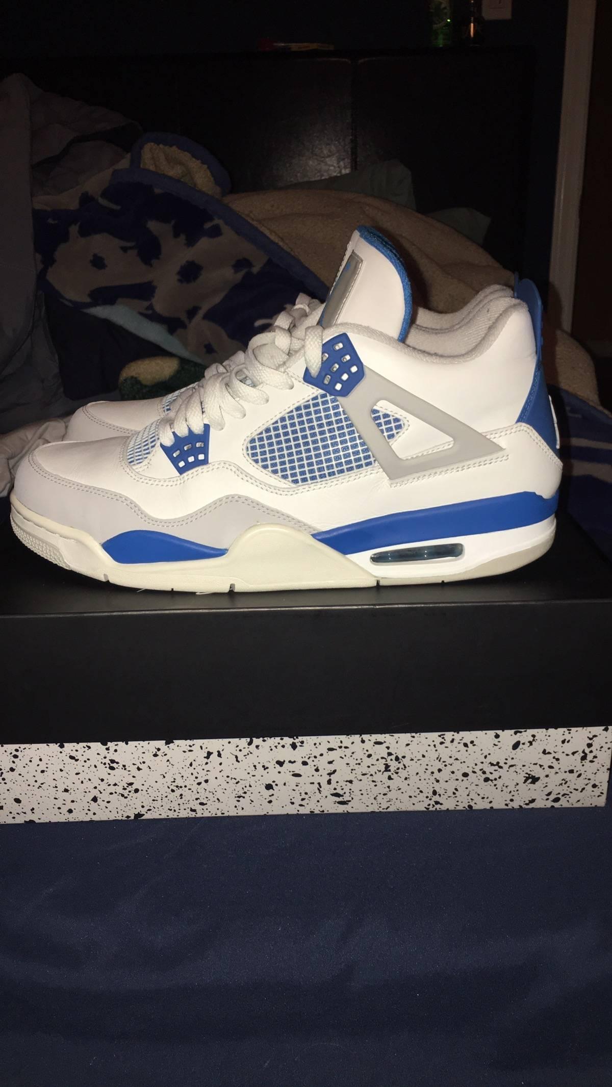 e41080c269eb27 Jordan Brand Military Blue 4s Size 11.5 - Hi-Top Sneakers for Sale - Grailed