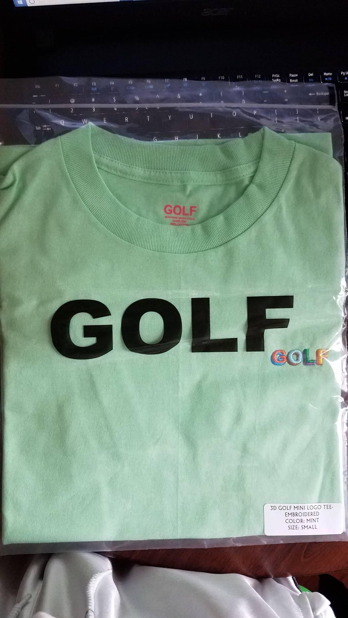 18d1120e8d2e Golf Wang GOLF 3D MINI LOGO TEE ~ Mint color Size s - Short Sleeve T-Shirts  for Sale - Grailed