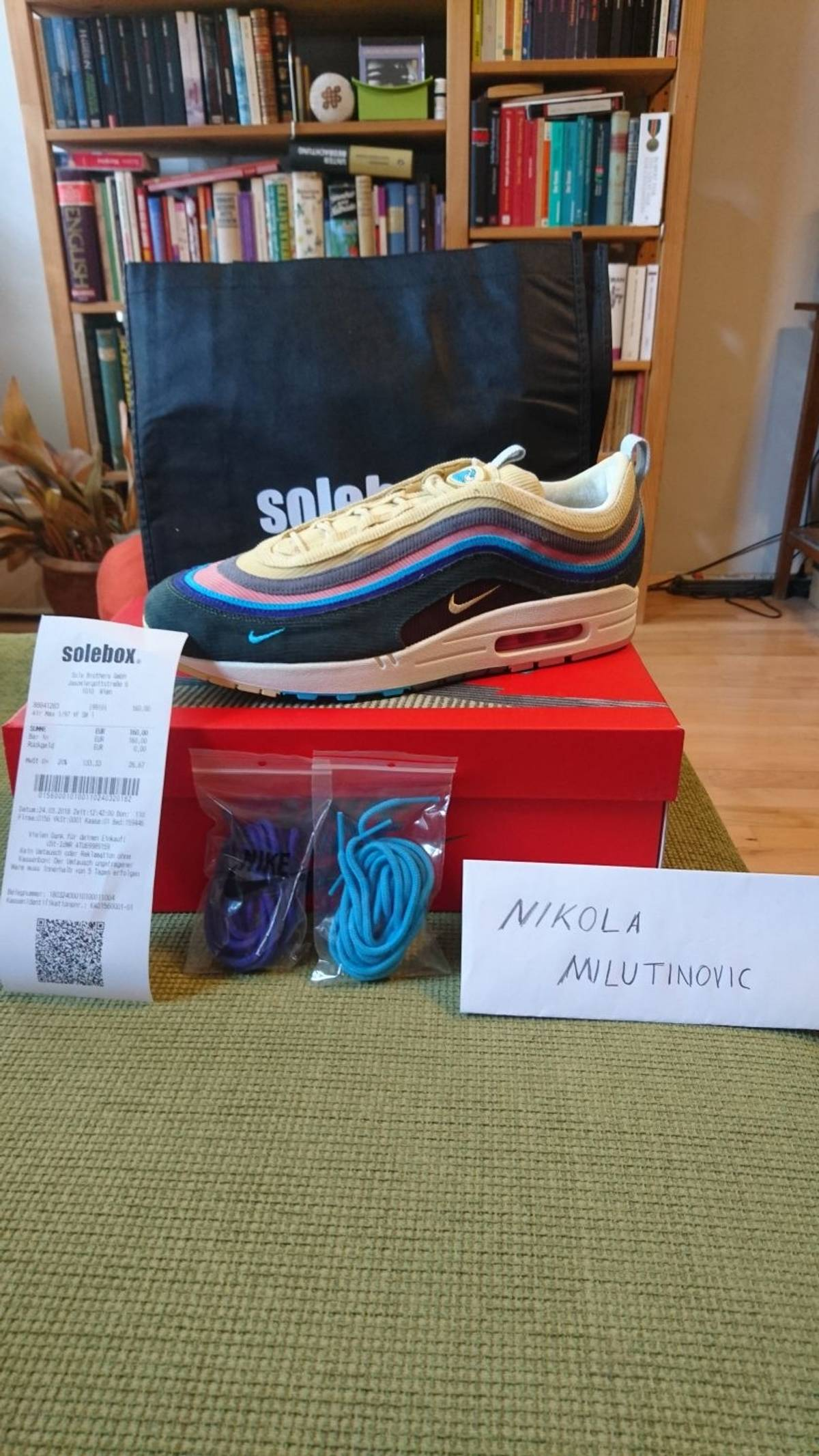 super popular e8cbd 30392 Nike Air Max 97 Sean Wotherspoon Size 12 $495