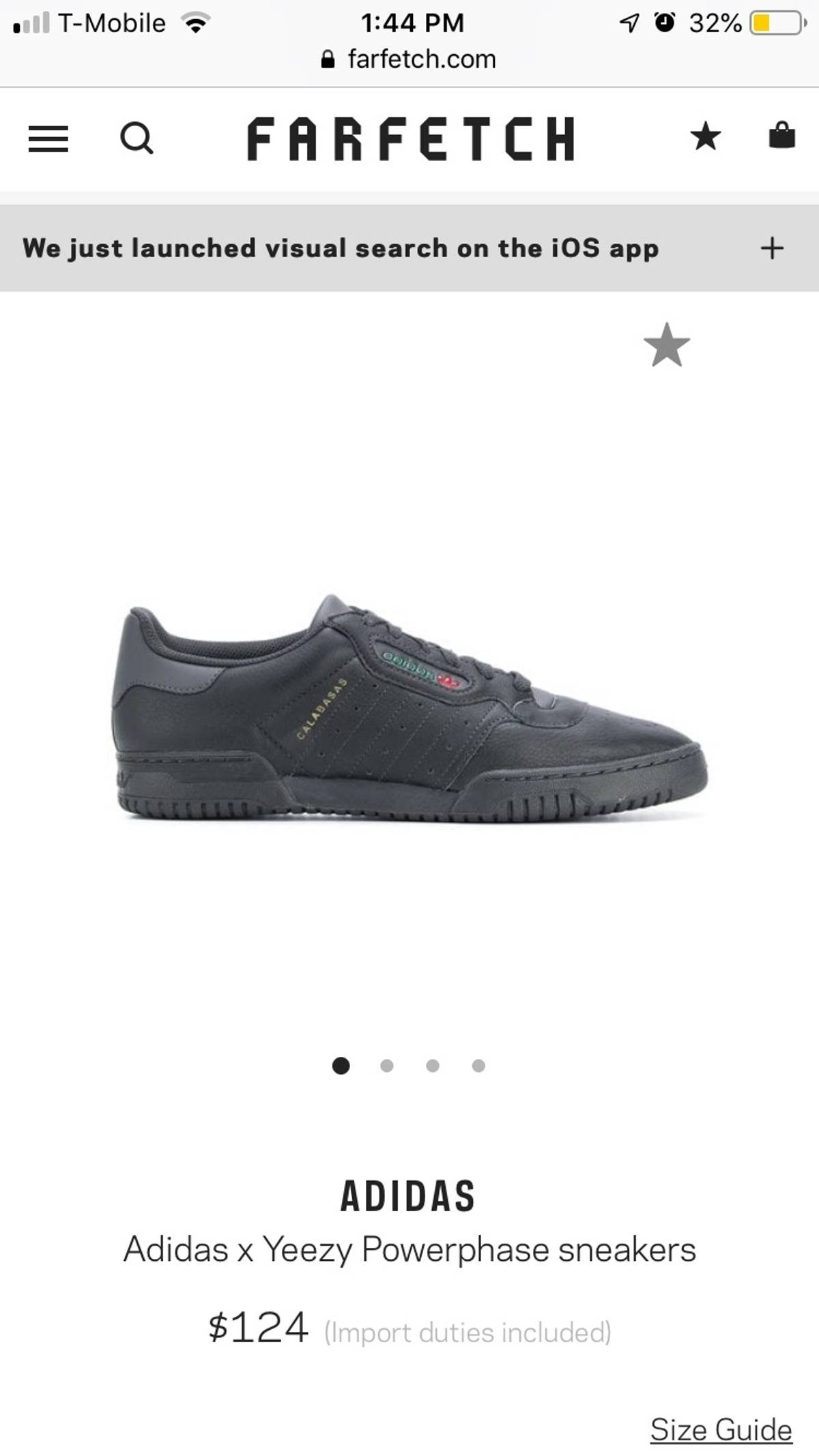 533e6937b518af Yeezy Season Yeezy Powerphase Size 11.5 - Casual Leather Shoes for Sale -  Grailed