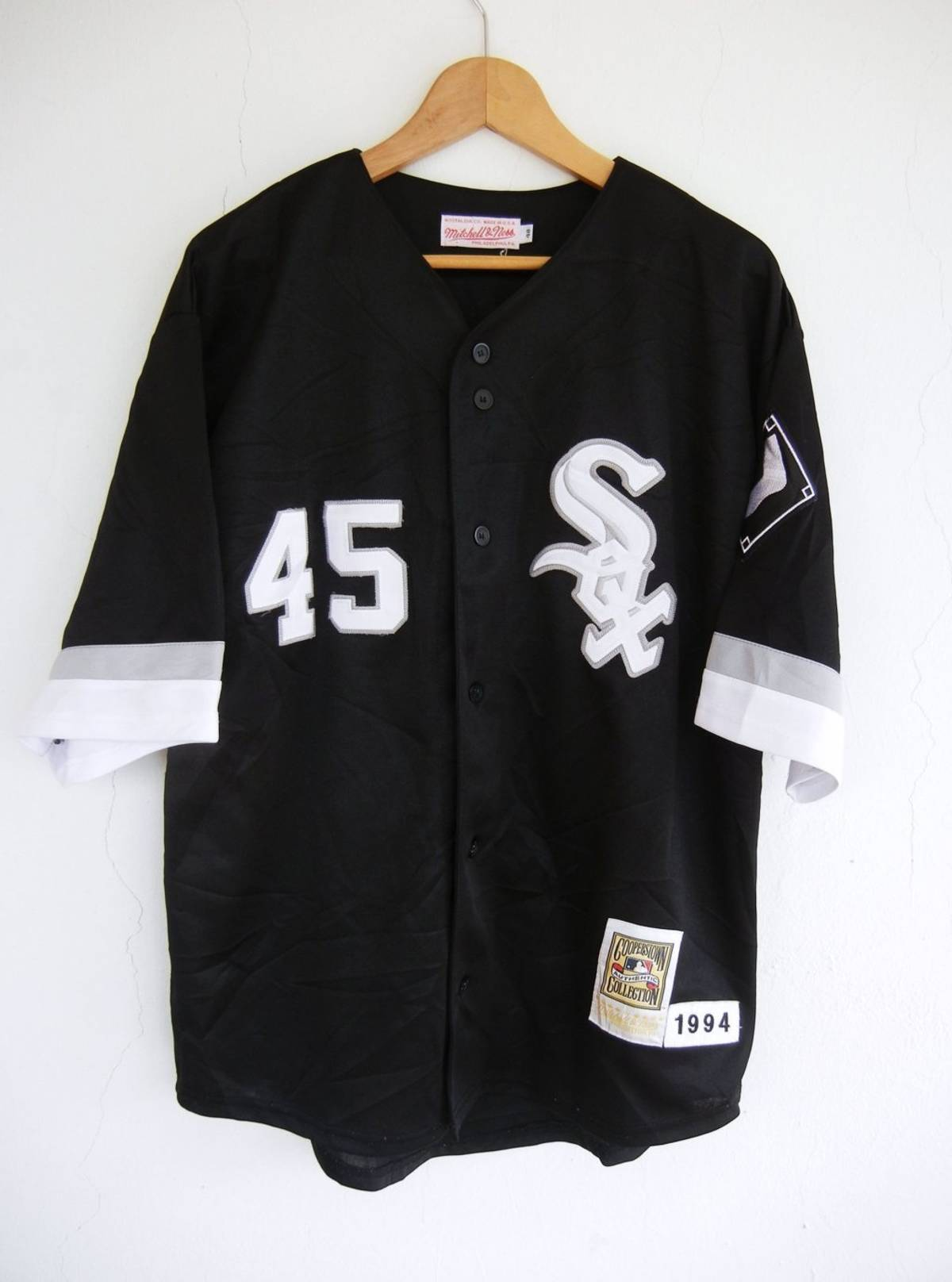 online store fae42 454d3 Mitchell & Ness Vintage 90s Mitchell & Ness Michael Jordan Chicago White  Sox Baseball Jersey #45 Authentic Sz Large Usa Size L $85