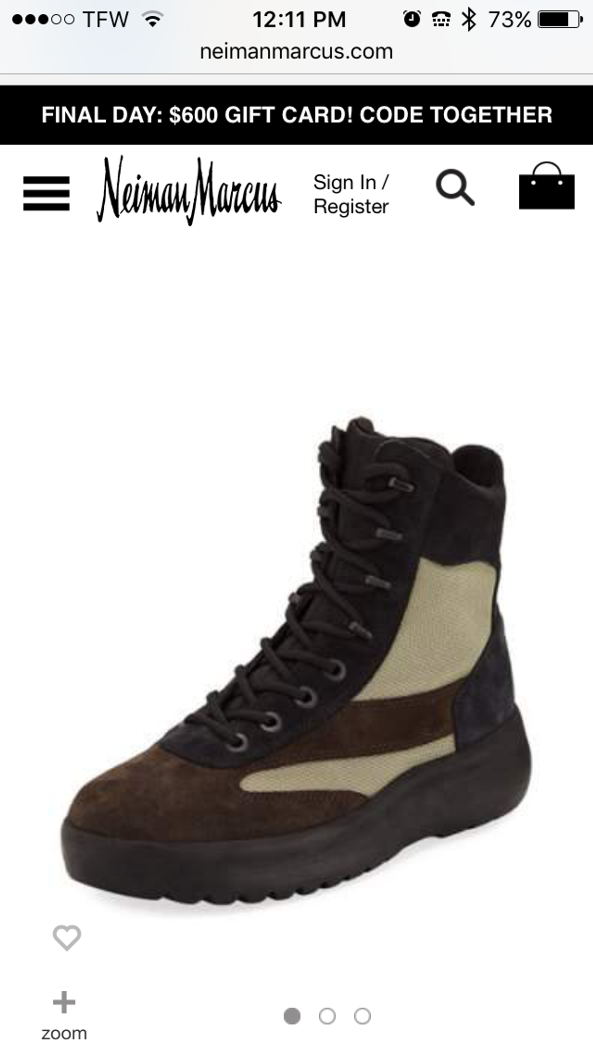 f99b1bb9a Yeezy Season Yeezy Season 5 Oil Light Military Boots( deleting March ...