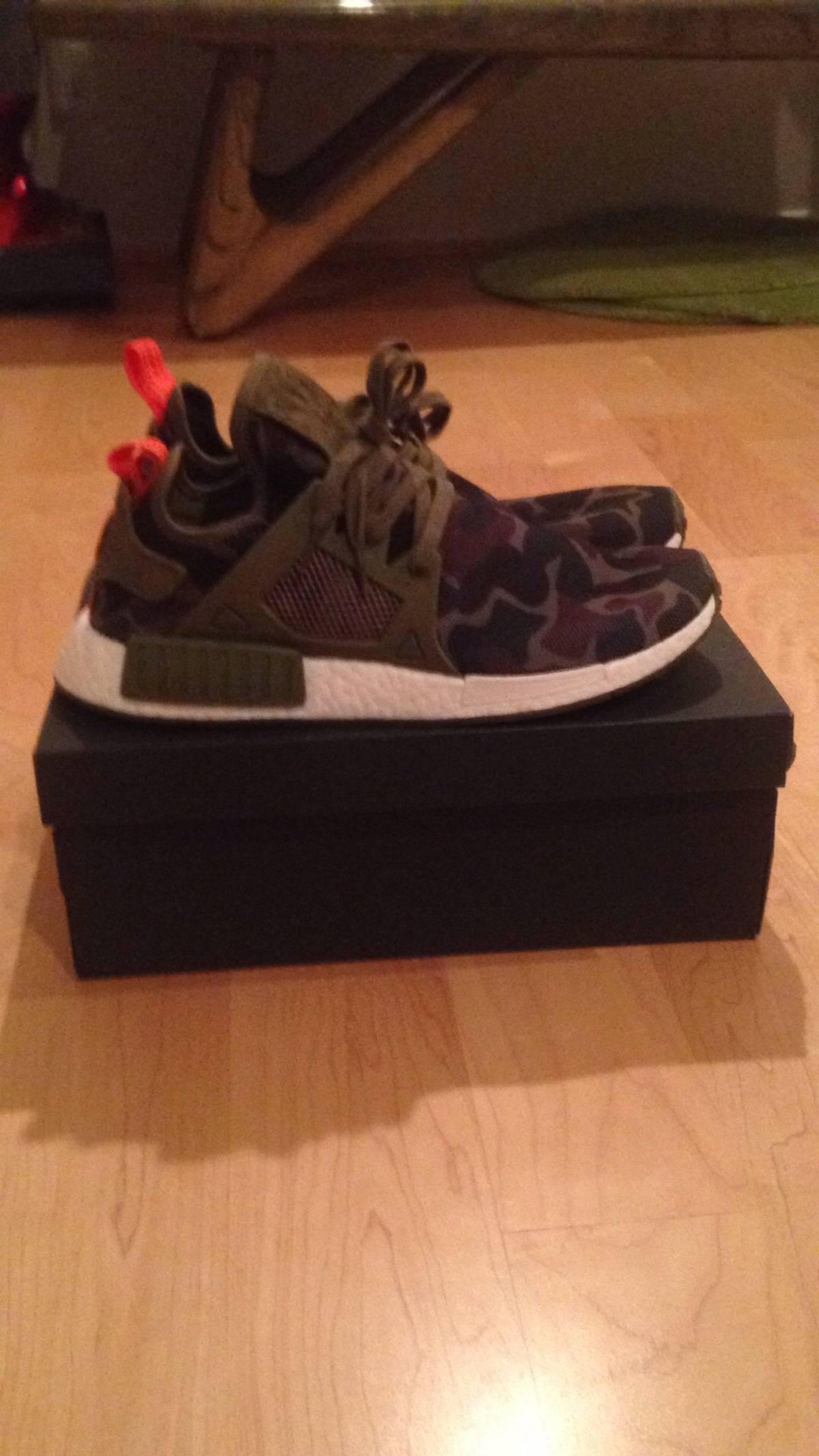 f3d634408d928 Adidas Adidas NMD XR1 Duck Camo  Olive Camo Size 11 - Low-Top ...