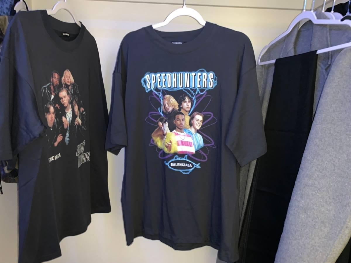 281d01256ab7 Balenciaga Balenciaga Speedhunters T-shirt   Grailed