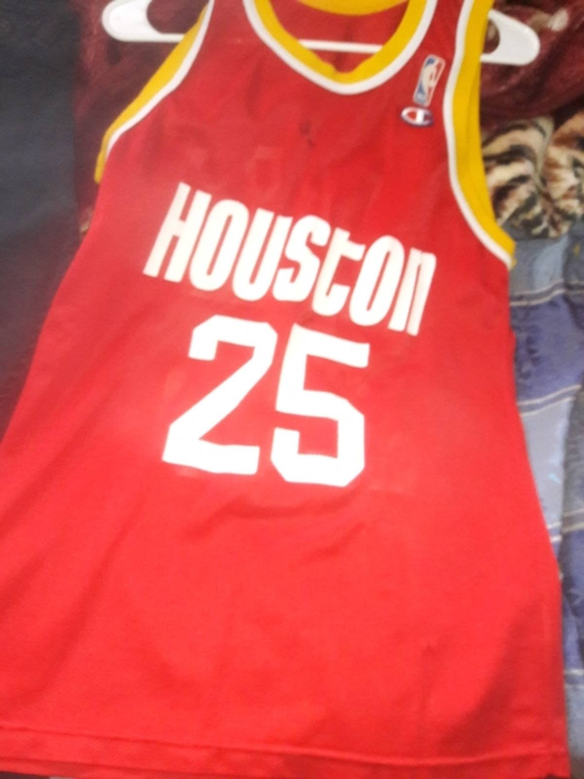 3f6407f3d Vintage Robert Horry Retro Throwback Houston Rockets Jersey Size m - Jerseys  for Sale - Grailed