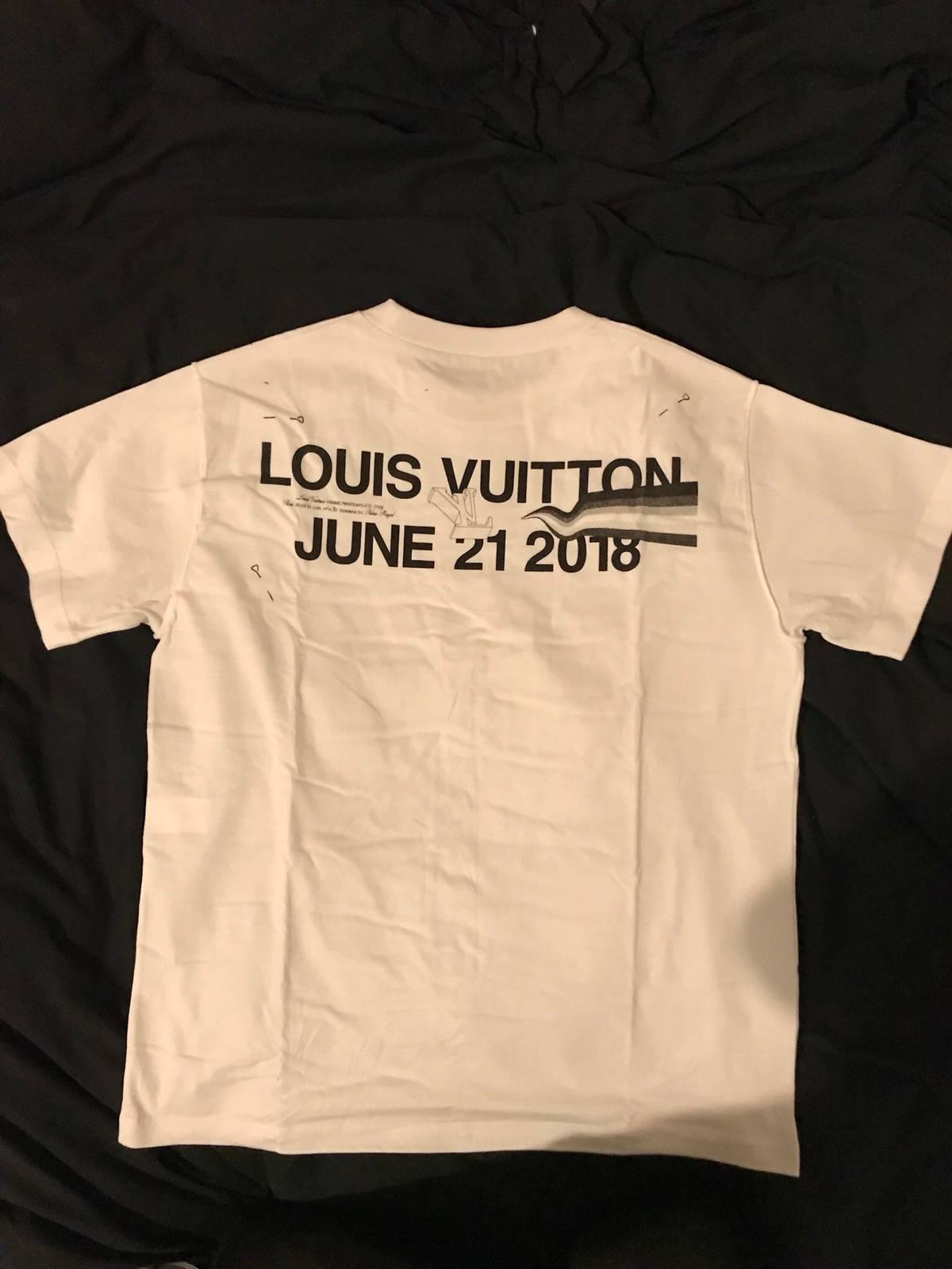 Louis Vuitton Virgil Abloh T Shirt For The Ss19 Louis Vuitton Mens
