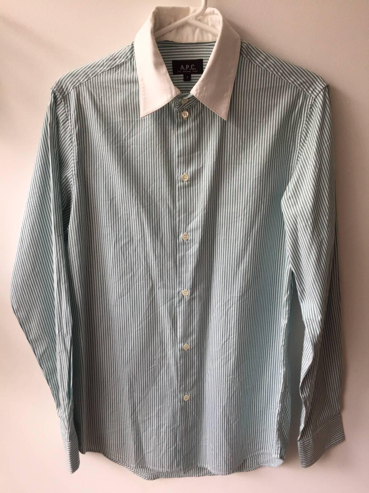 Apc Oxford Shirt Wdetachable Collar Size S Shirts Button Ups