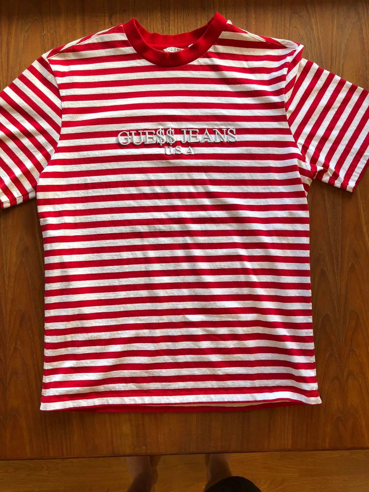 b0bb6d4fc6b7 Guess Jeans Striped Shirt Asap | Saddha