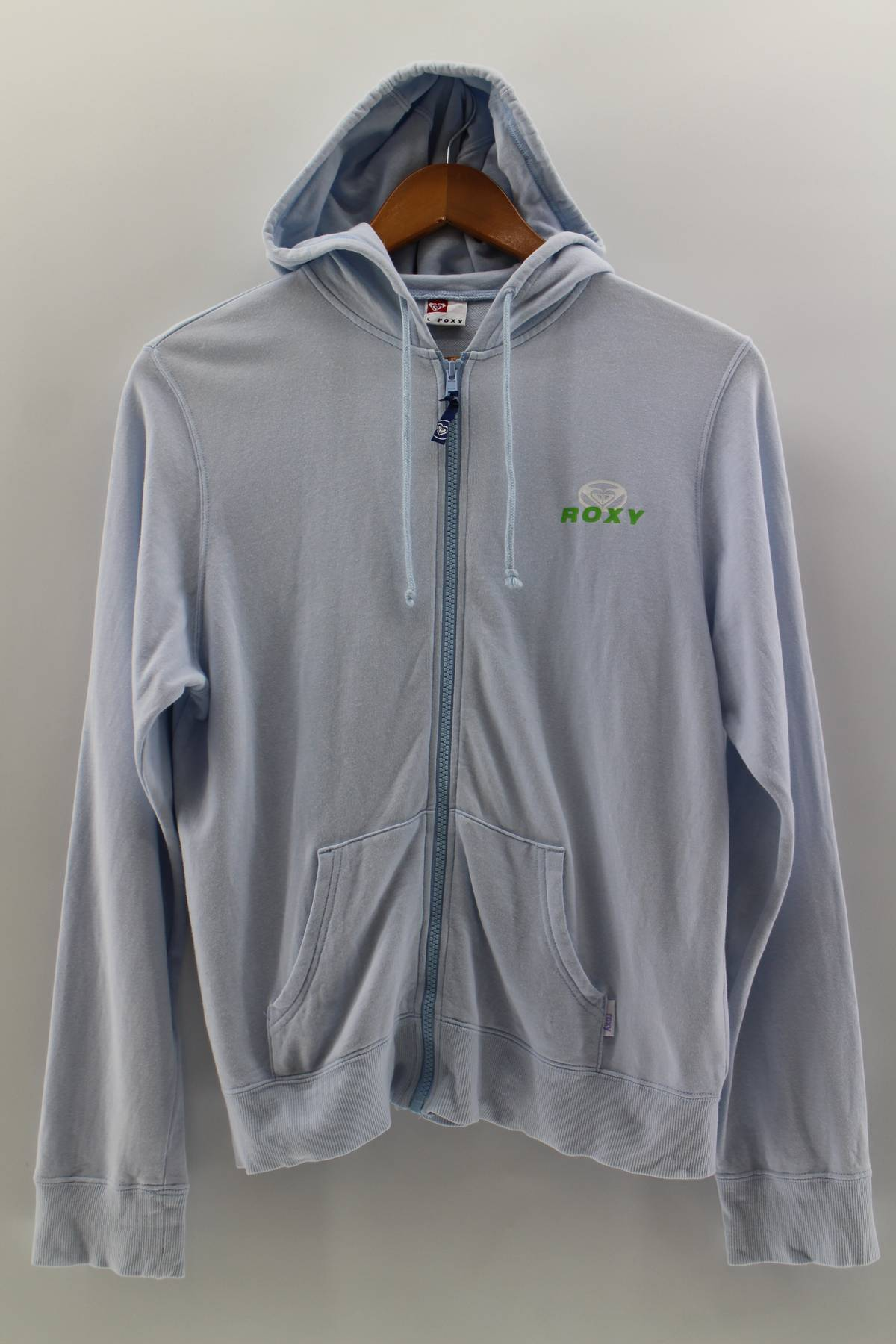 dd29afc1398e60 Other ×. Vintage ROXY Sweatshirt Hoodie Women Medium Roxy Quiksilver  Pullover Surfing ...