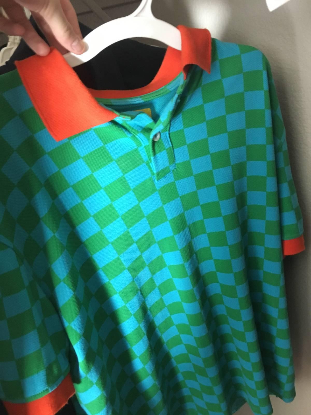 d7a0ad1e9b3f21 Golf Wang Golf Wang Checkered Polo Size M Polos For Sale Grailed