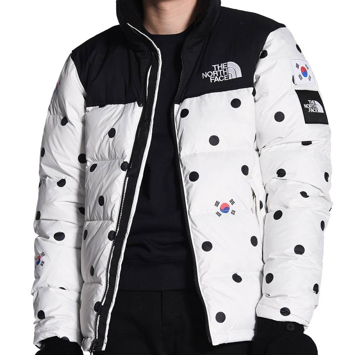 The North Face The North Face Nuptse Jacket South Korea Polka Dots Size M $495