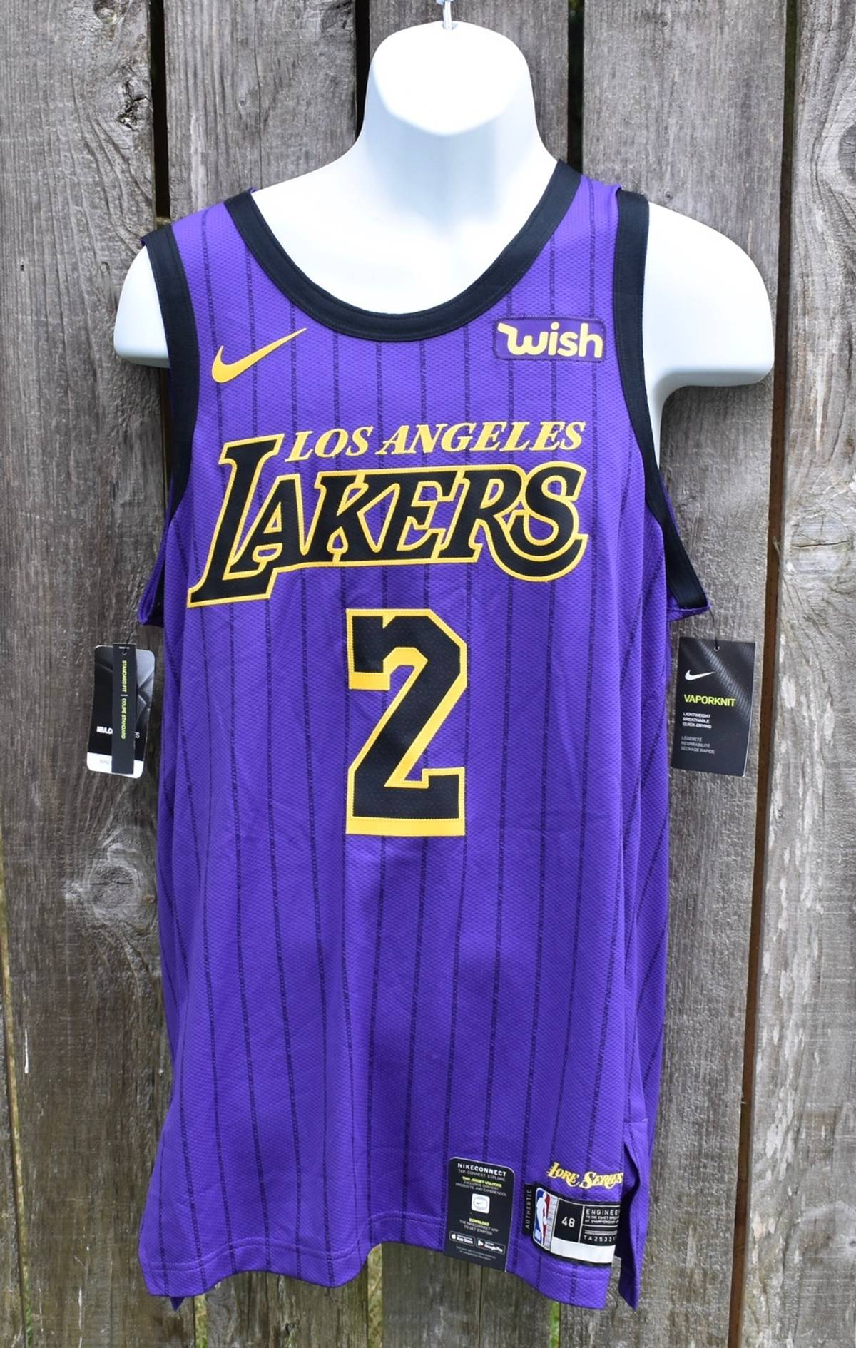 competitive price 3b051 a7db4 L.A. Lakers × Nike Lonzo Ball La Lakers Nike Connect Lake Show Jersey Size  L $25