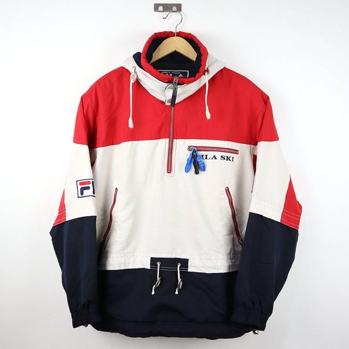 f34eb16f3bb Fila Fila Ski Vintage 90s Fila Snow Gear Winter Coat Puffer Hoodie ...
