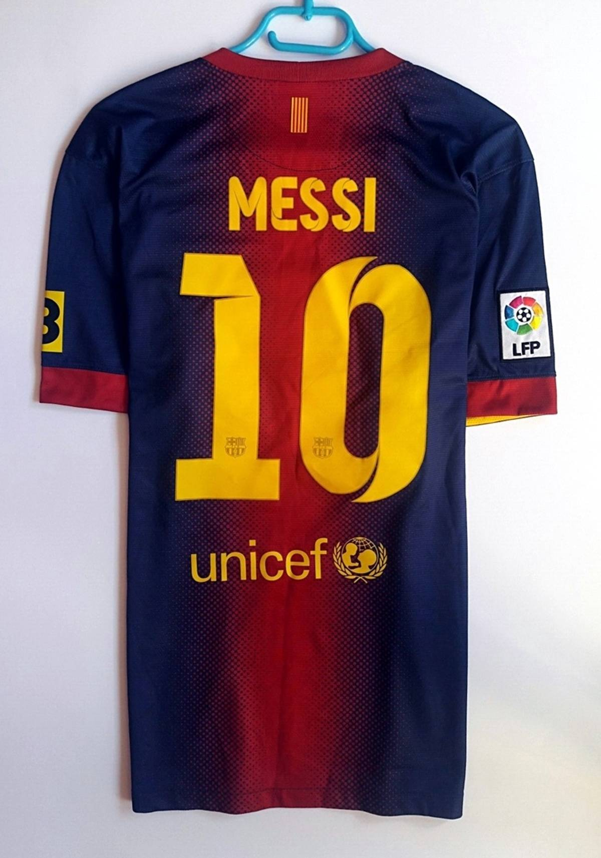 official photos 7c57f 7396f F.C. Barcelona × Nike Lionel Messi #10 Shirt Football Jersey Nike Barcelona  Barca Kit 2012 2013 2014 Home Size L $55