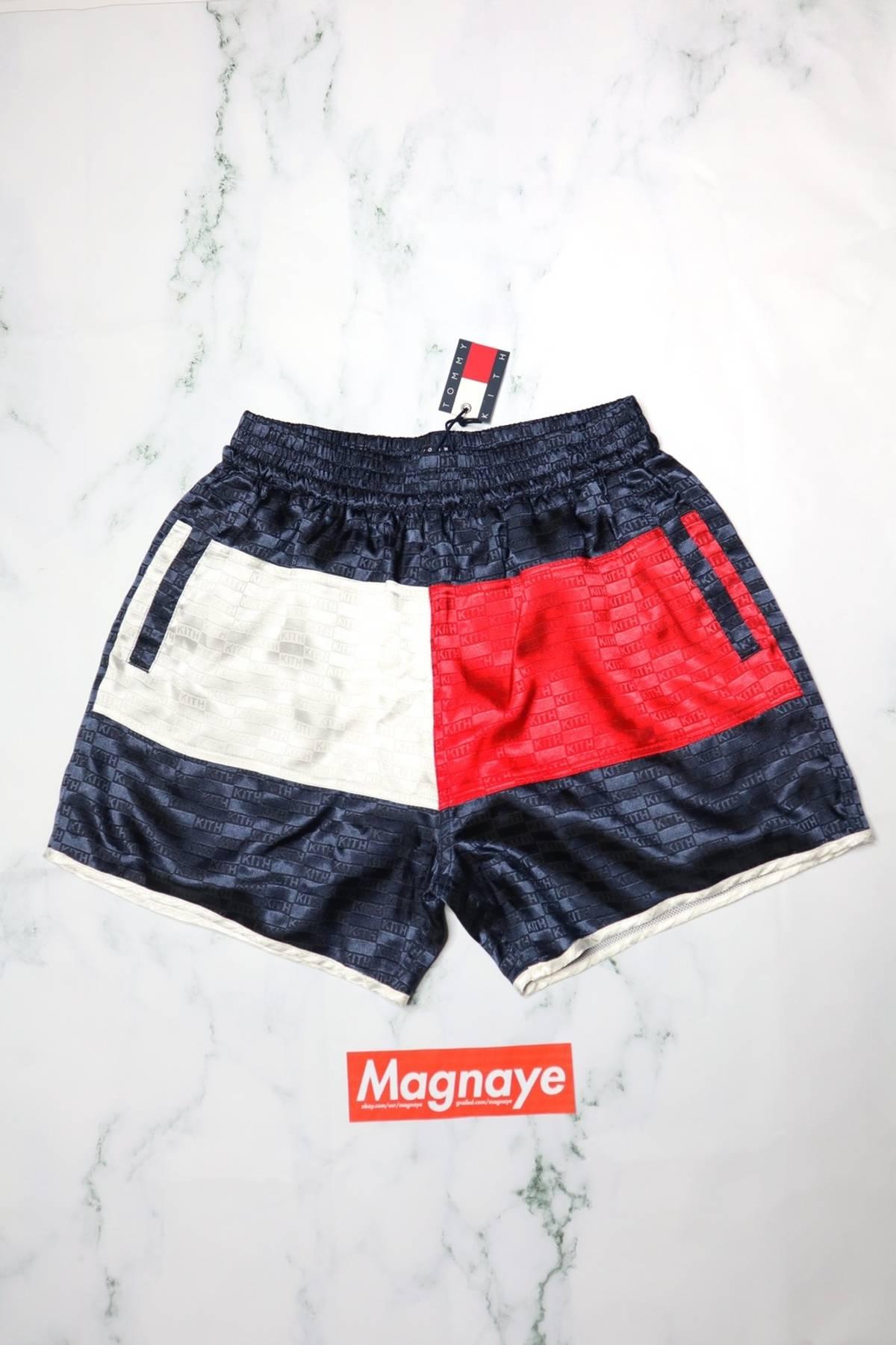 eac4da2cd7f9 Tommy Hilfiger × Kith Nyc ×. Kith x Tommy Hilfiger Satin Boxing Short ...