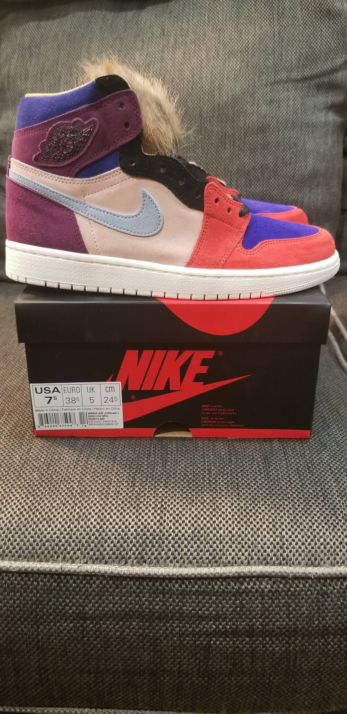 online store 7f1e0 05a59 Jordan Brand Aleali May X Wmns Air Jordan 1 Retro High