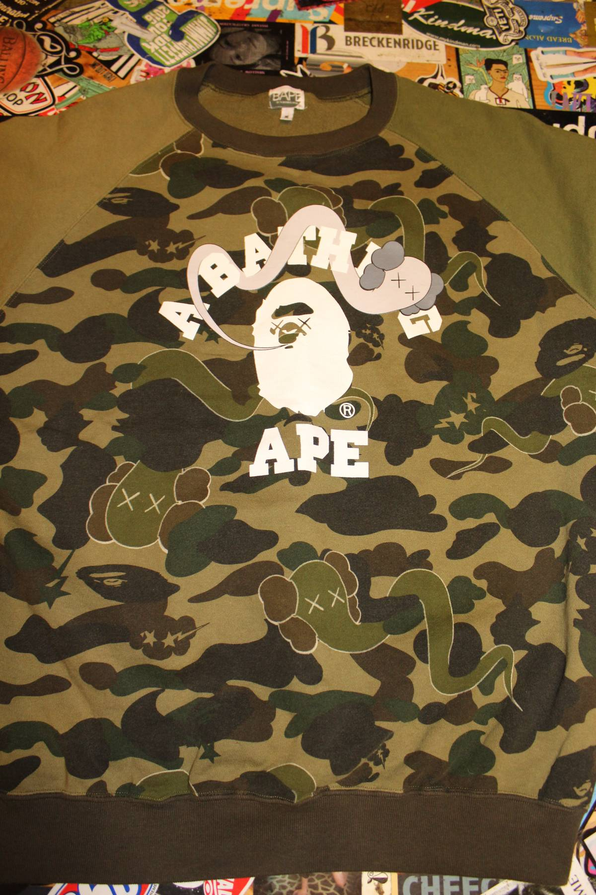 179a73b07af Bape 1st Camo College Crew Tee Size m - Short Sleeve T-Shirts for Sale -  Grailed