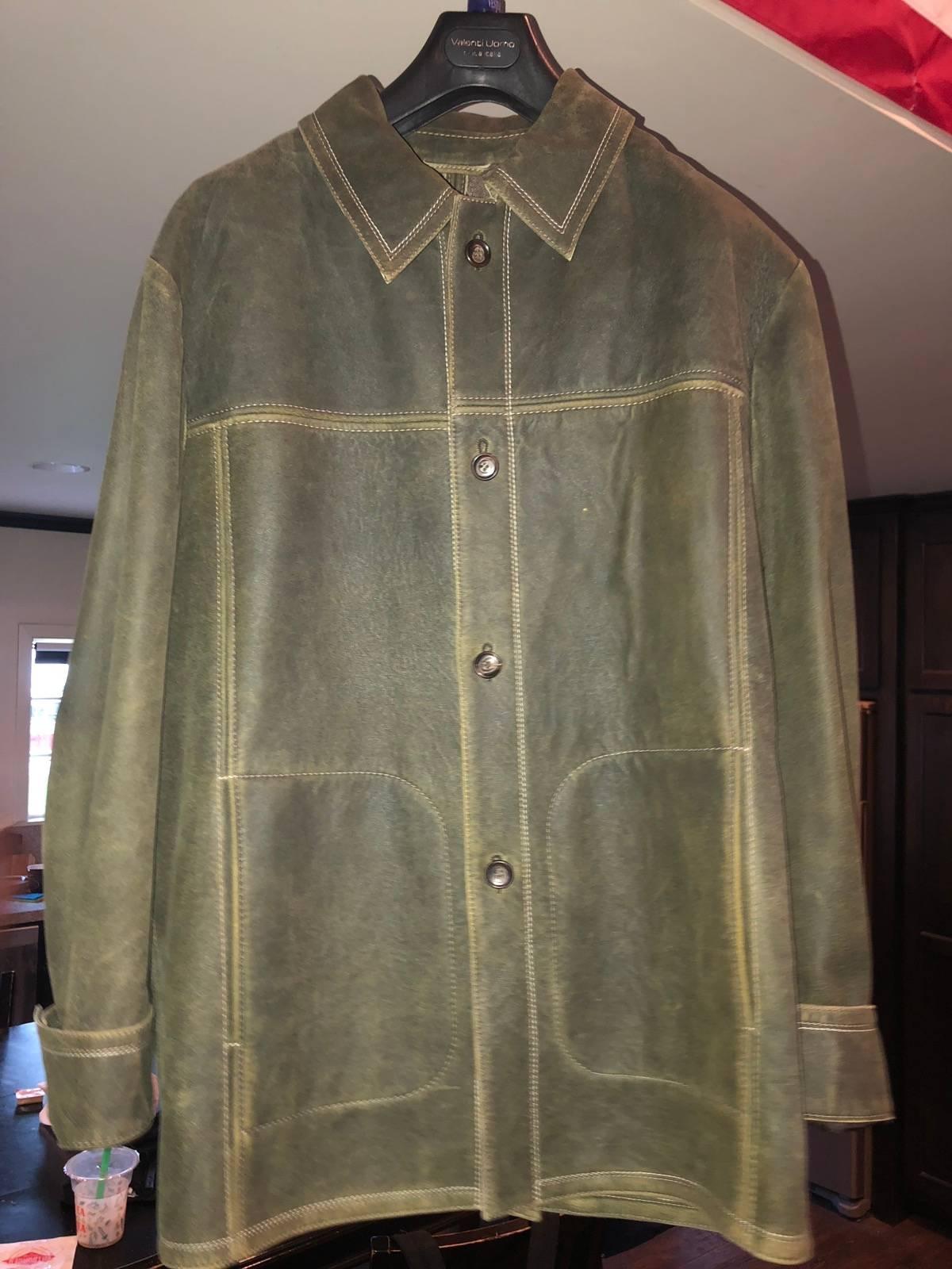 brand new 1a233 cf839 Missani Le Collezioni Lambskin Jacket Size L $360