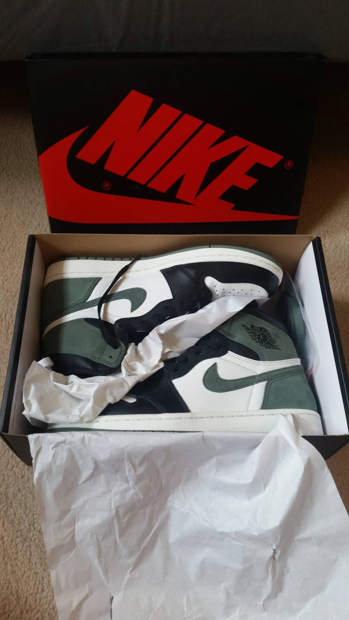 factory price 2db28 61999 Jordan Brand ×. Air Jordan 1 Retro High OG Clay Green (Best Hand in The Game  Collection) SUMMIT WHITE CLAY ...