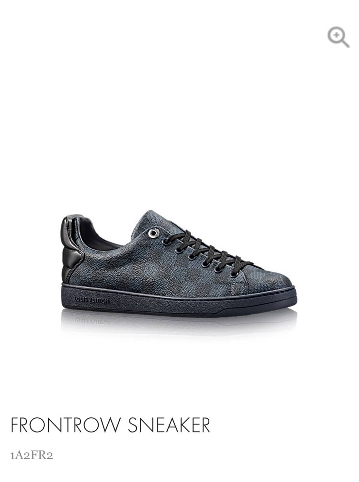 577a5abfcebc Louis Vuitton Frontrow Sneaker Size 9 - Low-Top Sneakers for Sale - Grailed