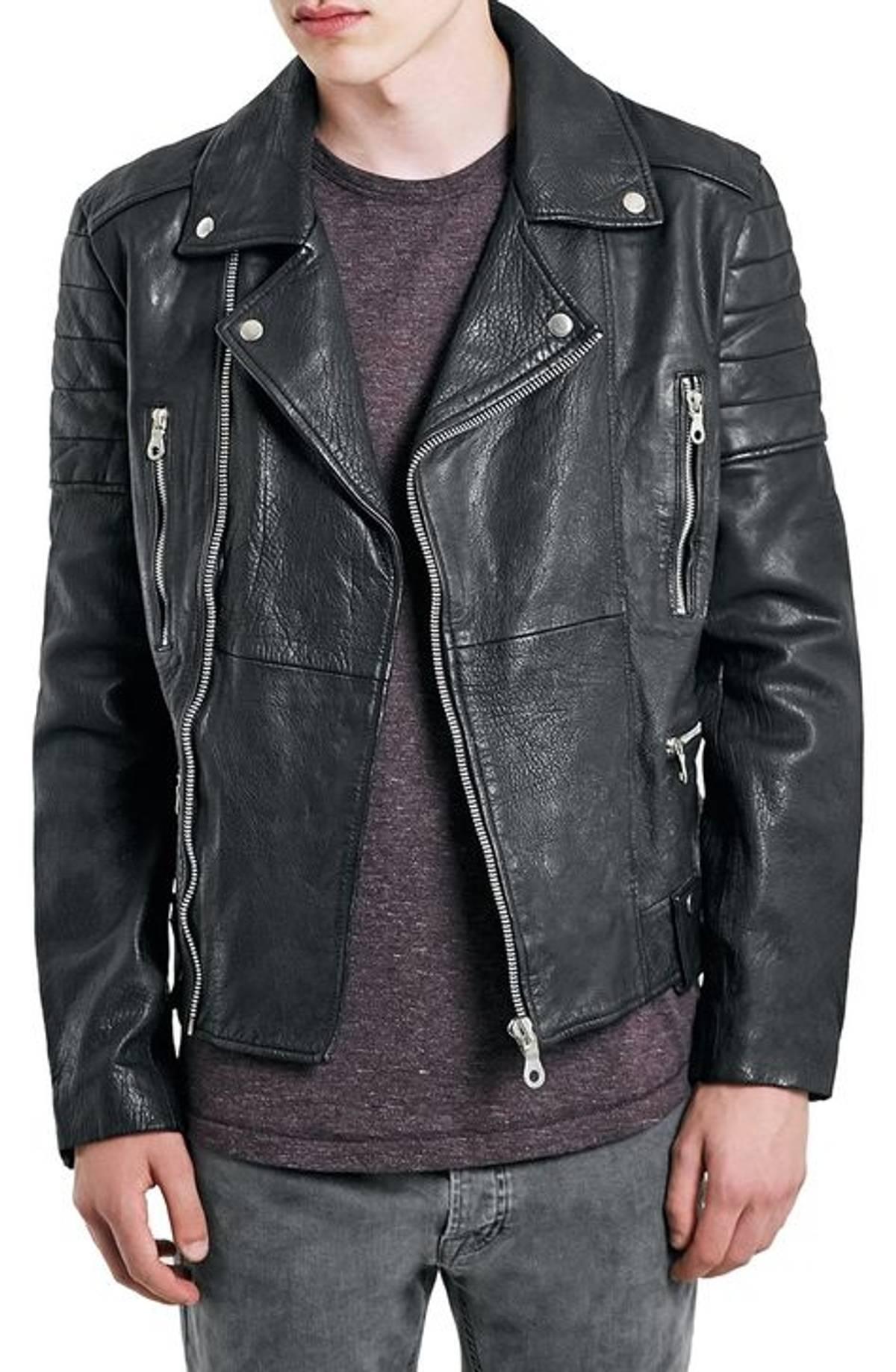 d24152691 Topman Topman Genuine Leather Bike Jacket Size S $105