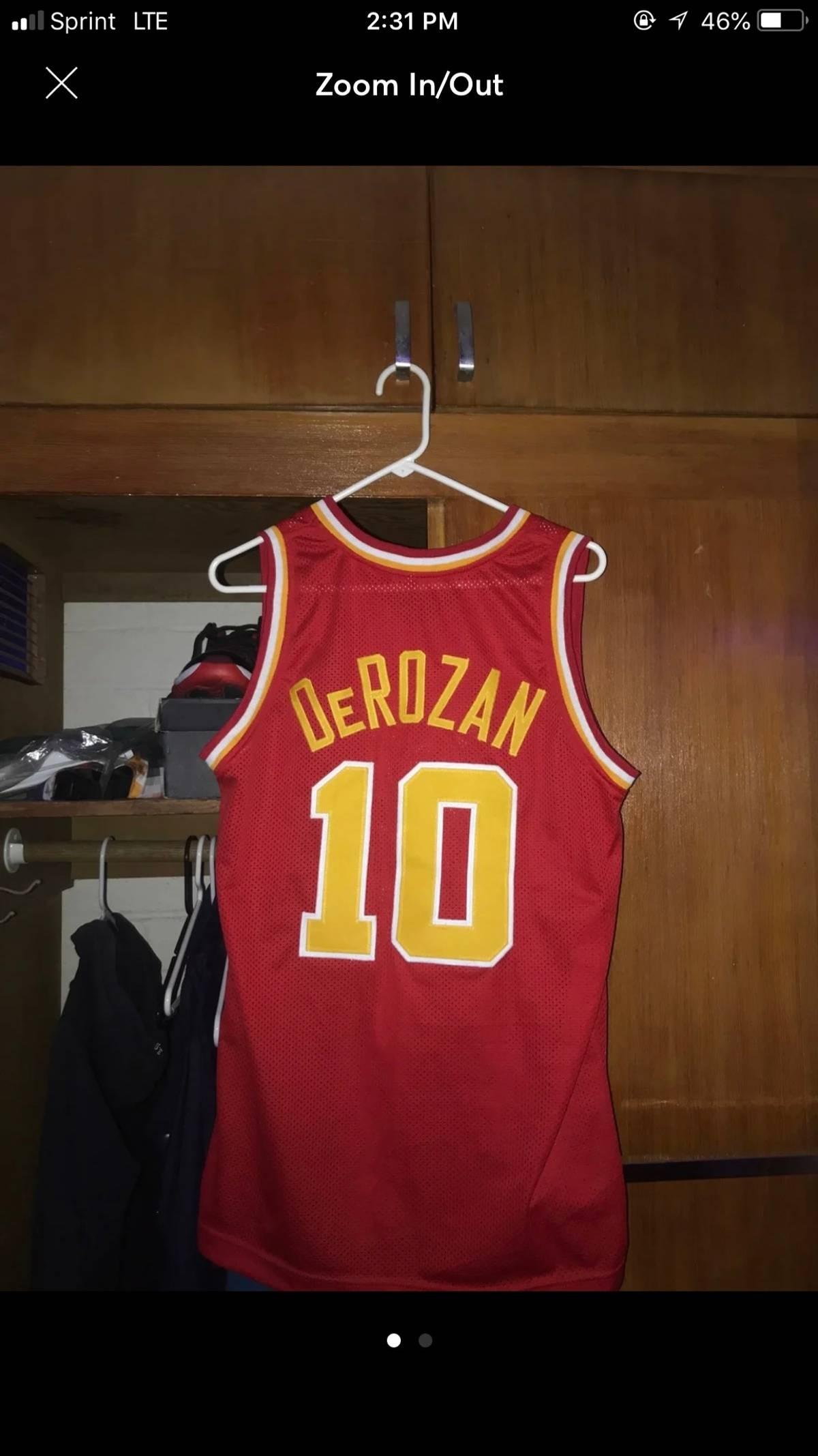 low priced 176a9 0f931 Custom Piece De Mar De Rozan Usc Basketball Jersey #10 Size M $60