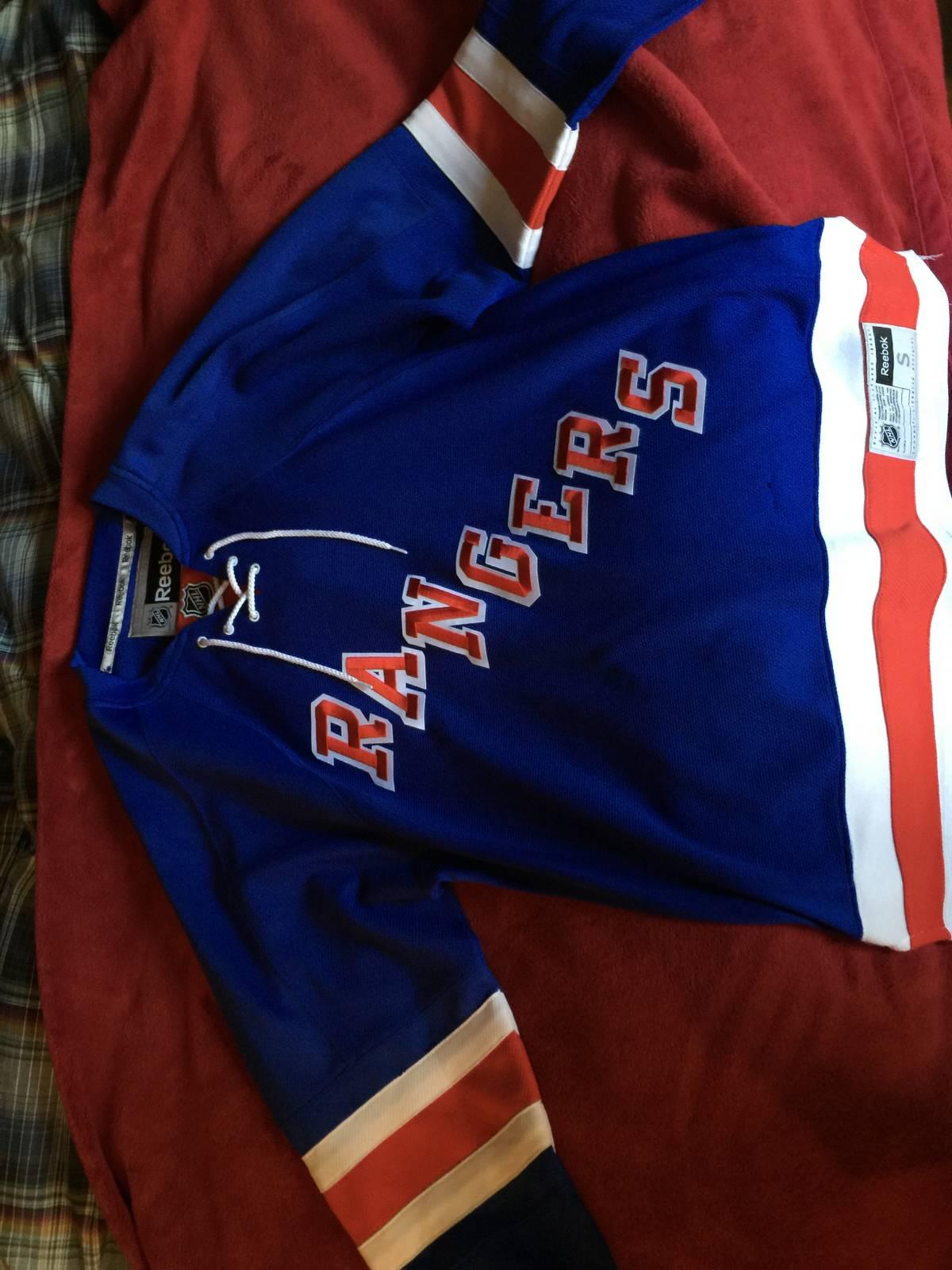 Reebok Authentic New York Rangers Jersey Size l - Jerseys for Sale - Grailed 868470de0