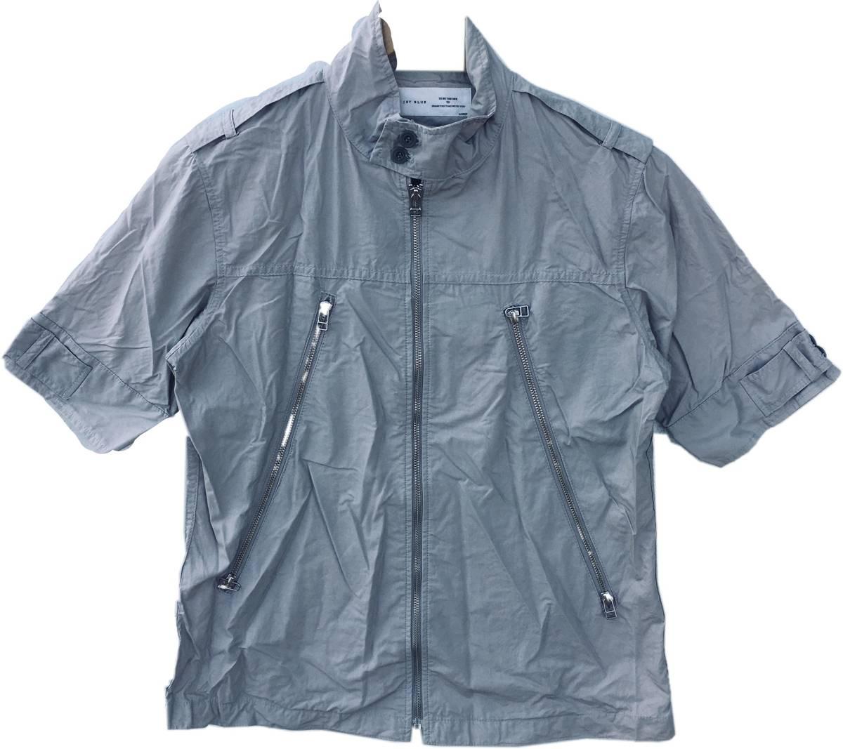 Ships Japan Japanese Brand Ships Punk Style Zip Up Polo Shirt Size M