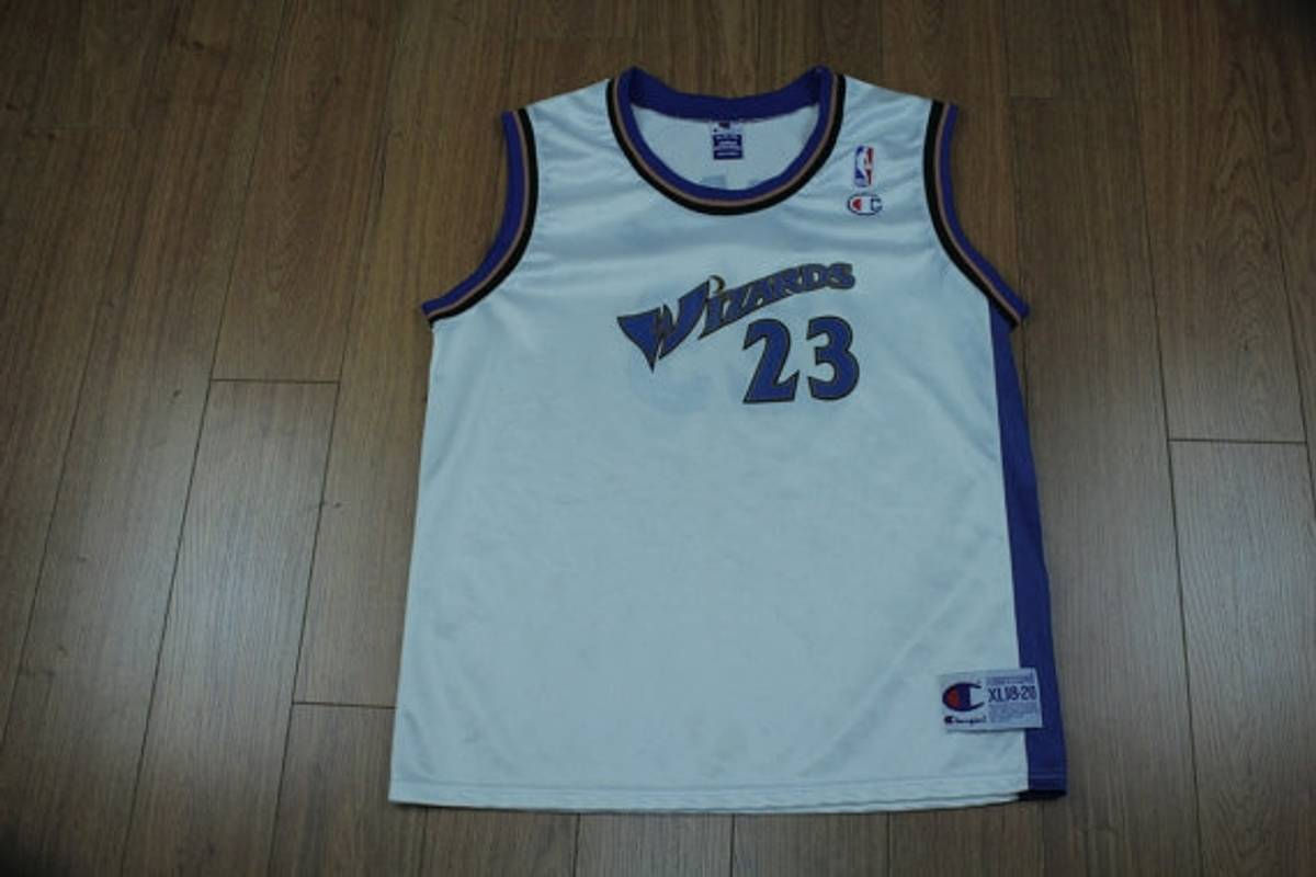 Champion Michael Jordan Champion Jersey Vintage Washington Wizards 23 Youth  XL 18-20 Size s - Jerseys for Sale - Grailed 4ed29b9df