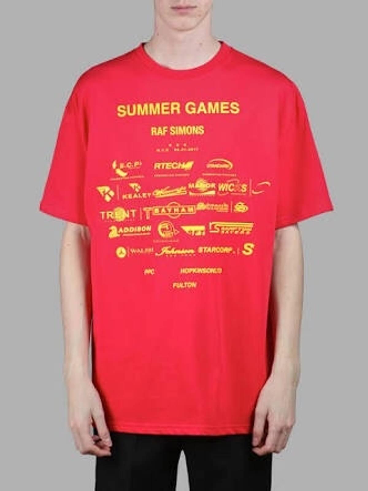 7e0f56fbf382 Raf Simons  summer Games  Tee