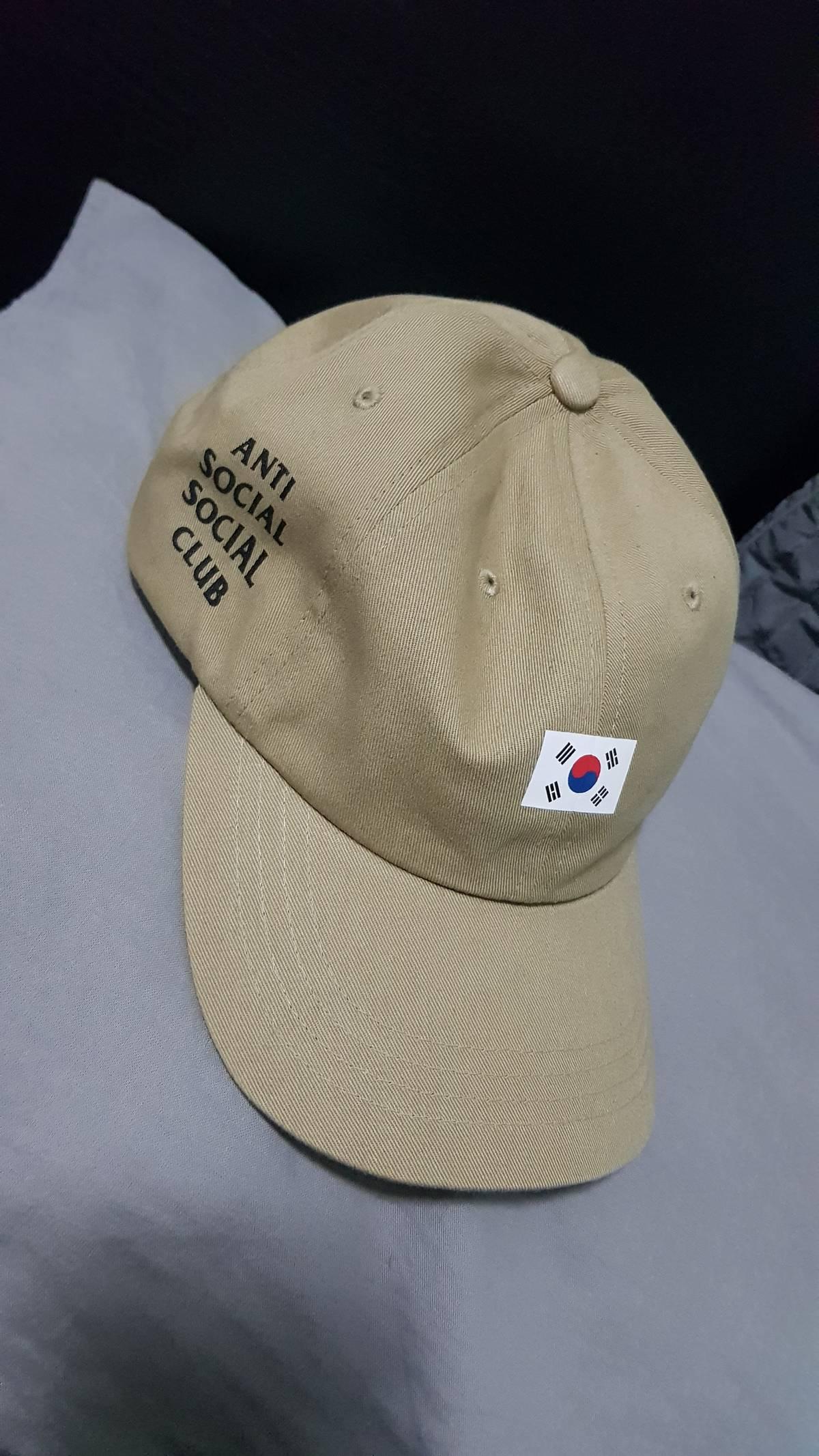 7a676f6f30554 Antisocial Social Club Assc Weird Cap - Korea