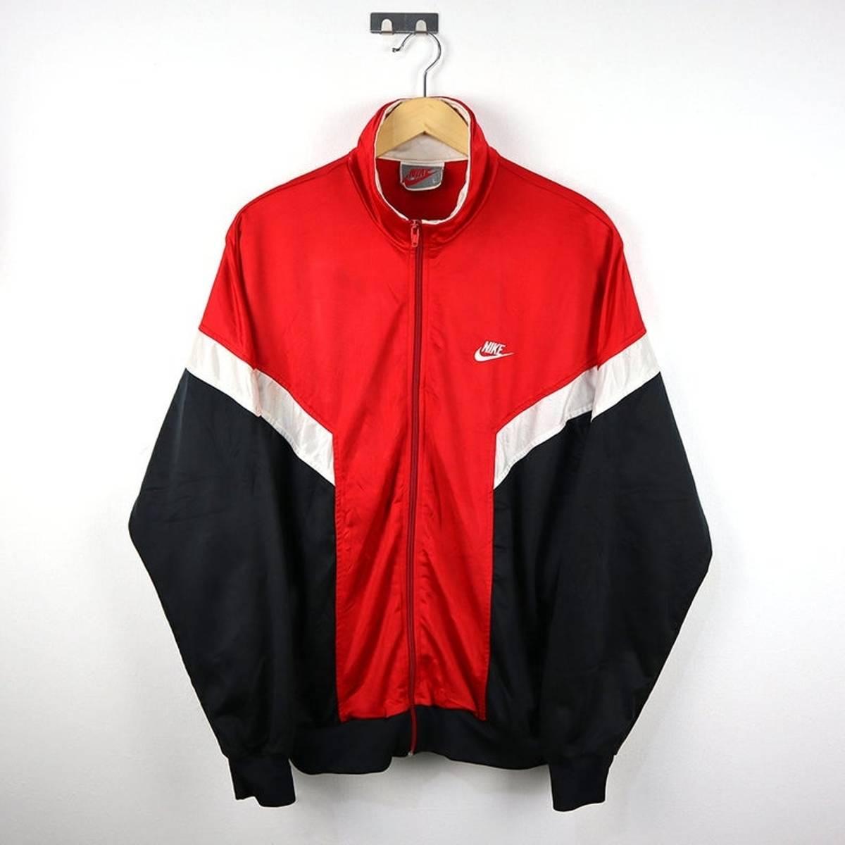 ec0eb5fe9e5 Nike Rare Vintage 80s 90s Nike Windbreaker Track Top Jacket / Retro ...