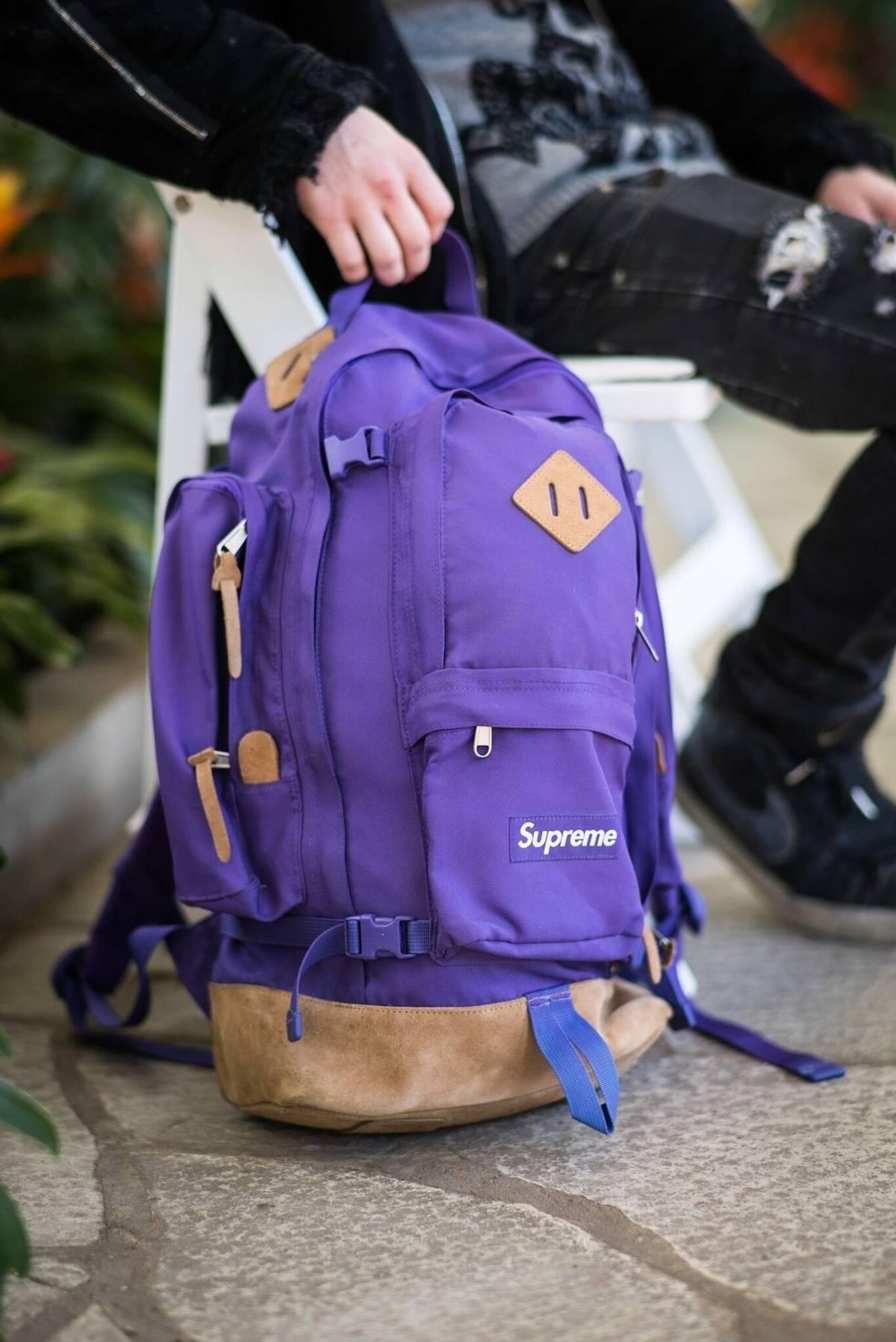 e977b132ec1 Supreme 2006 Purple Backpack Size One Size $585