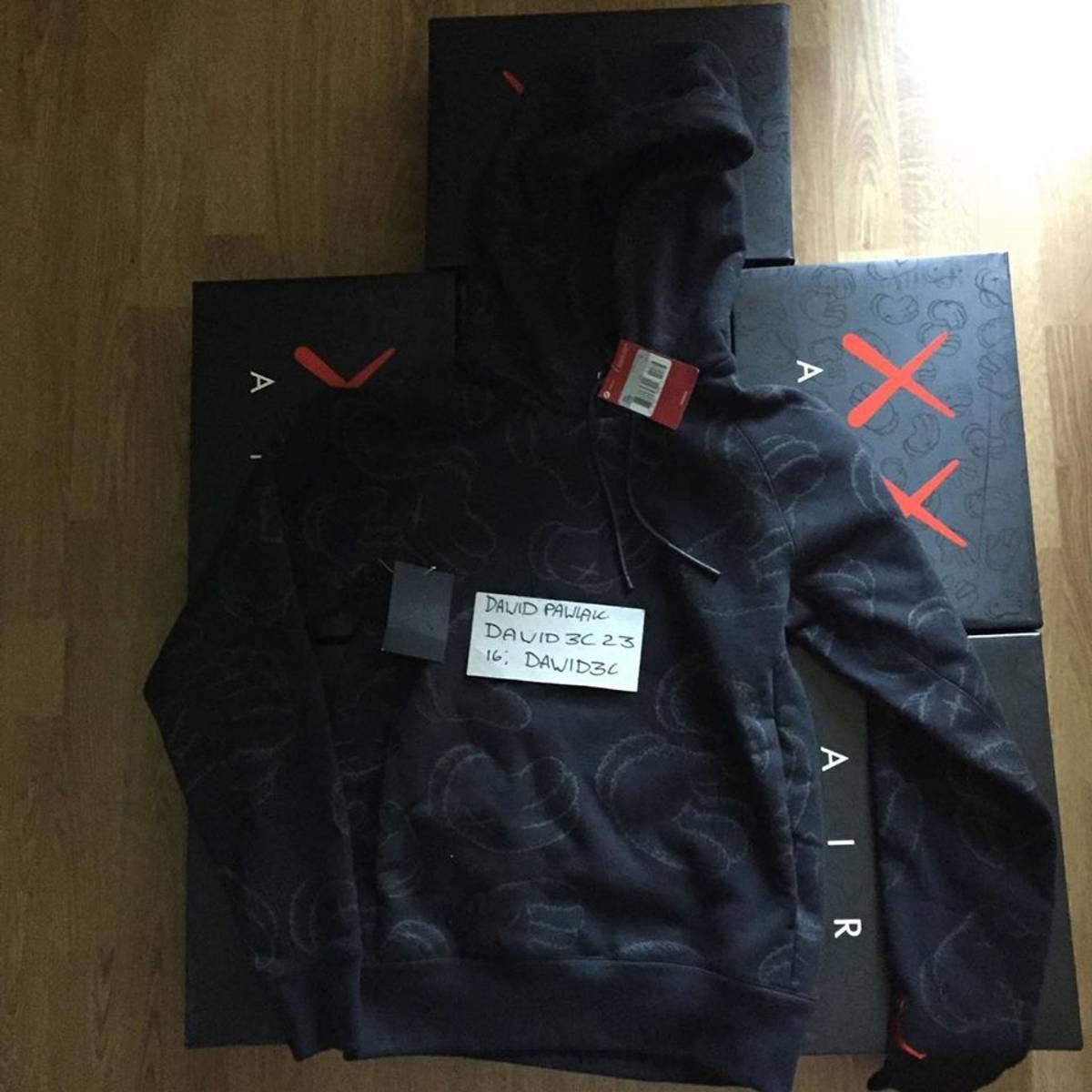 591d24b548e Jordan Brand Nike Air Jordan X Kaws Hoodie | Grailed