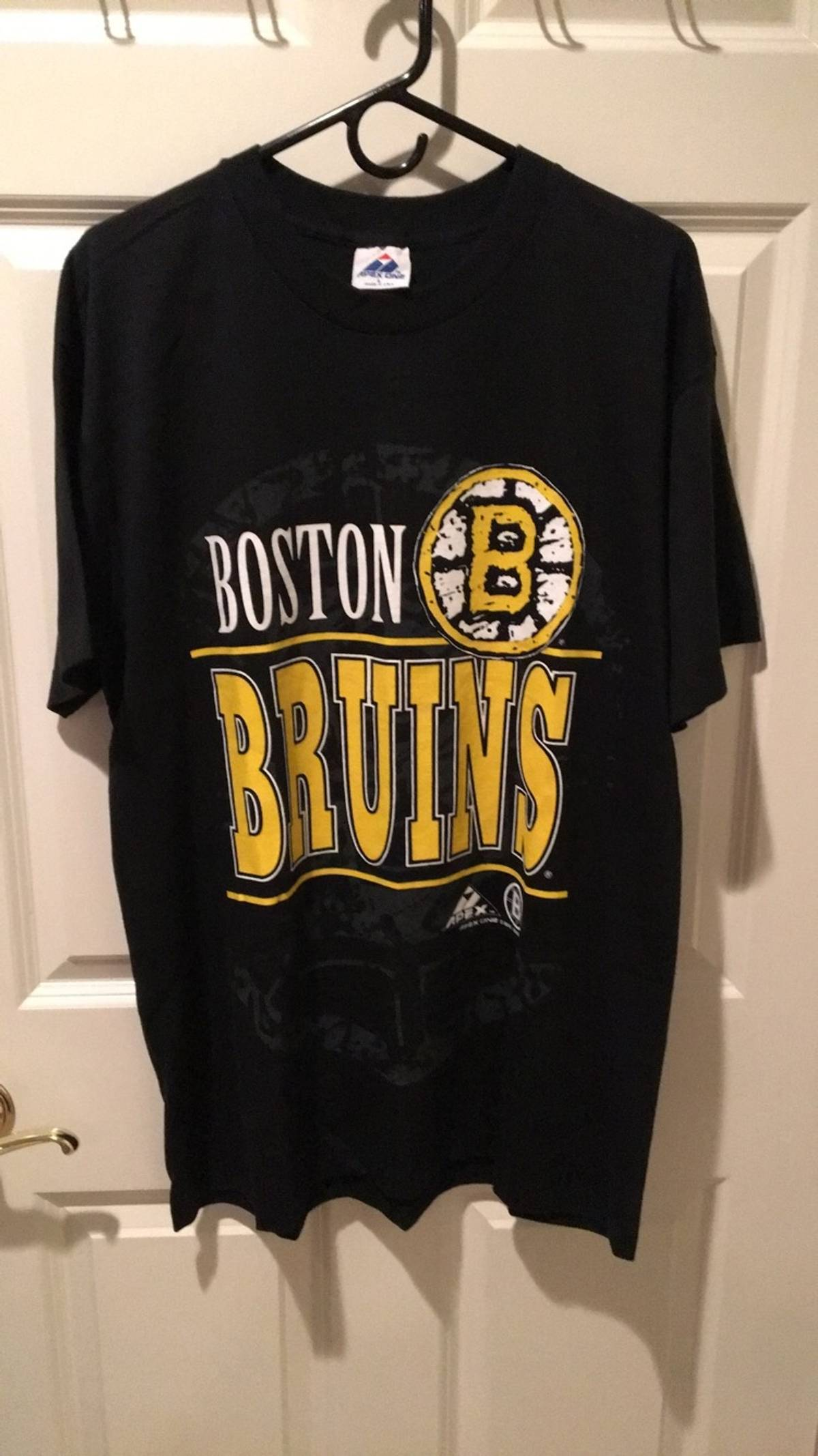 6993d0099d203 Vintage × Boston Celtics × Apex One ×. Vintage 1993 Apex Boston bruins t  shirt