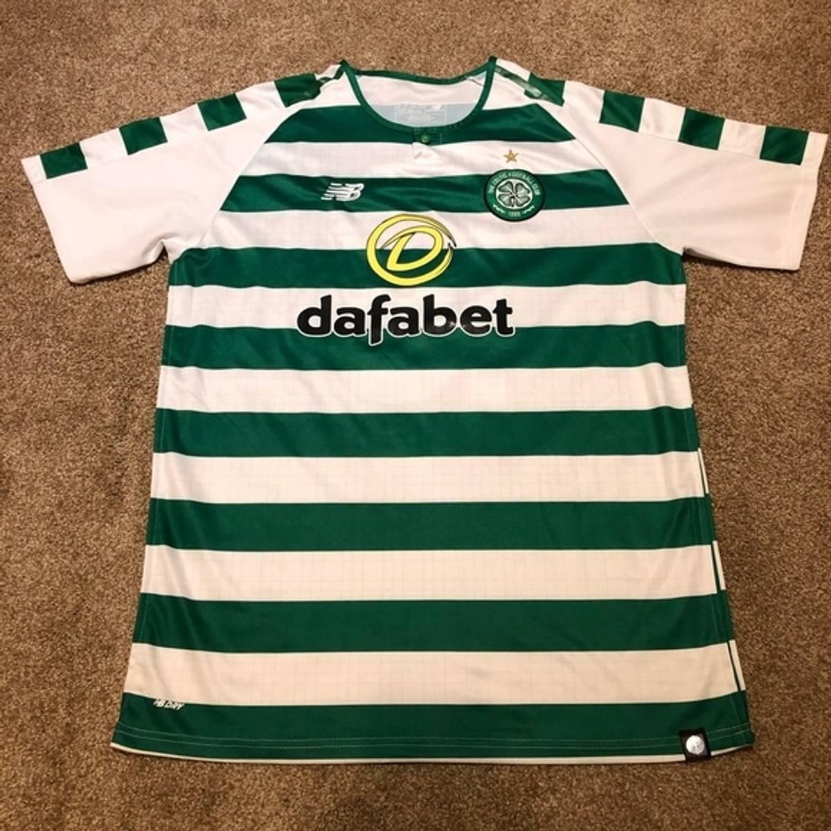 quality design 0077c ff0b9 New Balance Tom Rogic Celtic Fc Green/White New Balance Soccer Jersey Size  Xxl $60