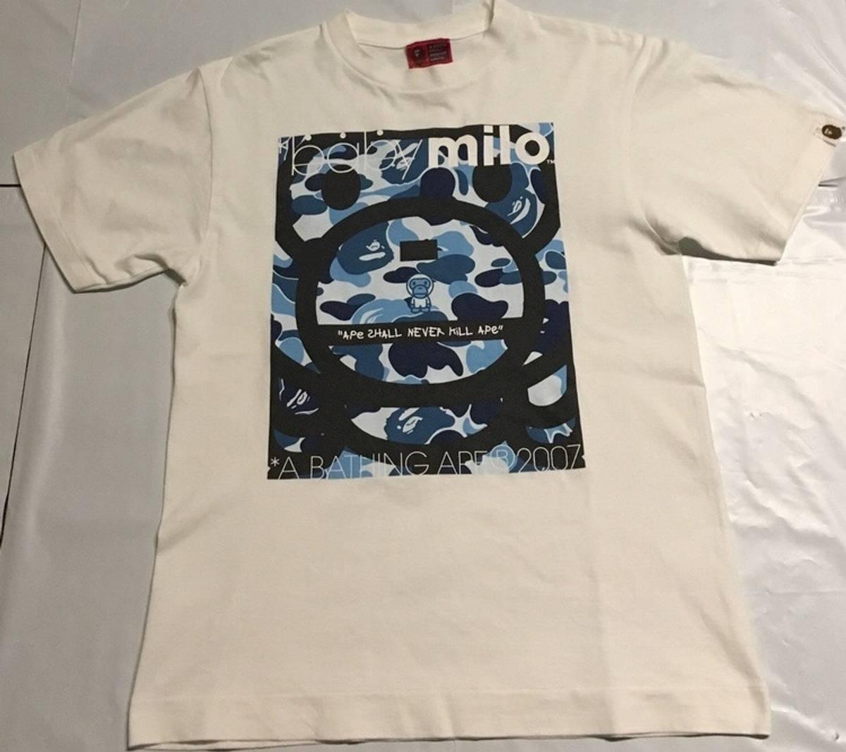 b0318980a Bape T-Shirt : A Bathing Ape Official Site - BAPE Hoodie .