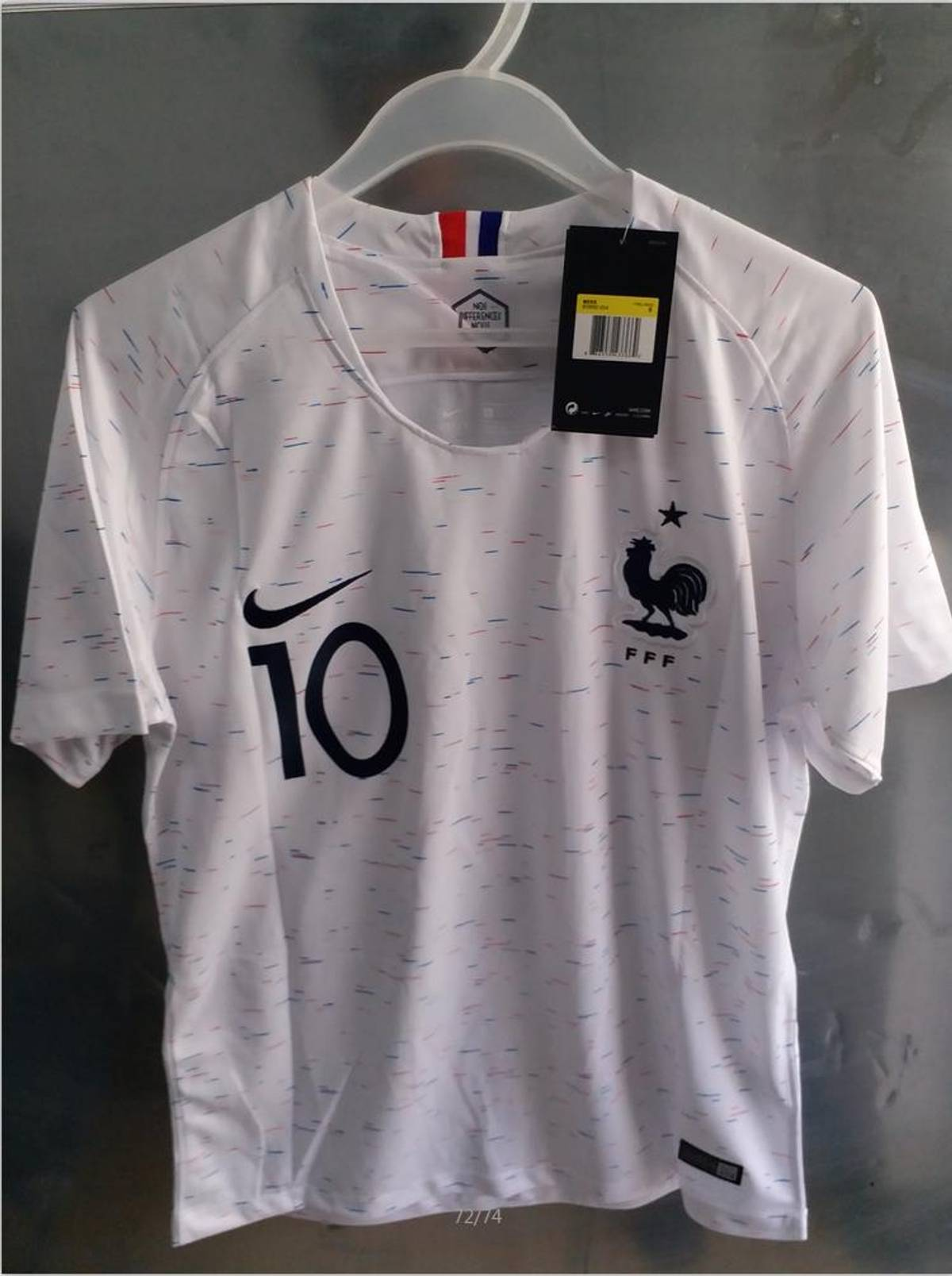 d6cb190d0ca Soccer Jersey ×. Mens #10 Mbappe France Soccer Jersey Football Jersey Away  2018 World Cup ...