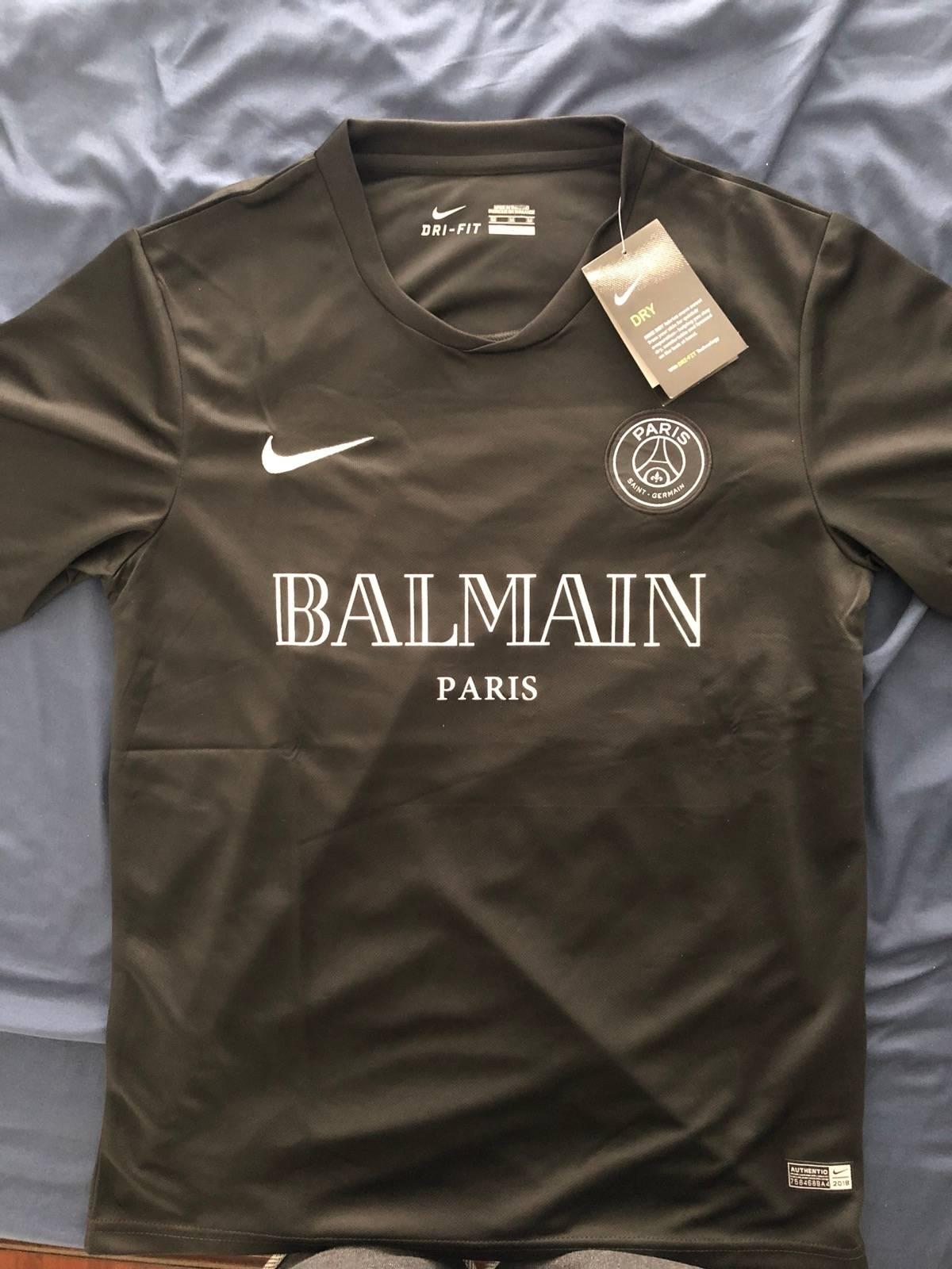 4b76681d9 Balmain Nike x Balmain x PSG Custom Medium Soccer Jersey Size m - Short  Sleeve T-Shirts for Sale - Grailed