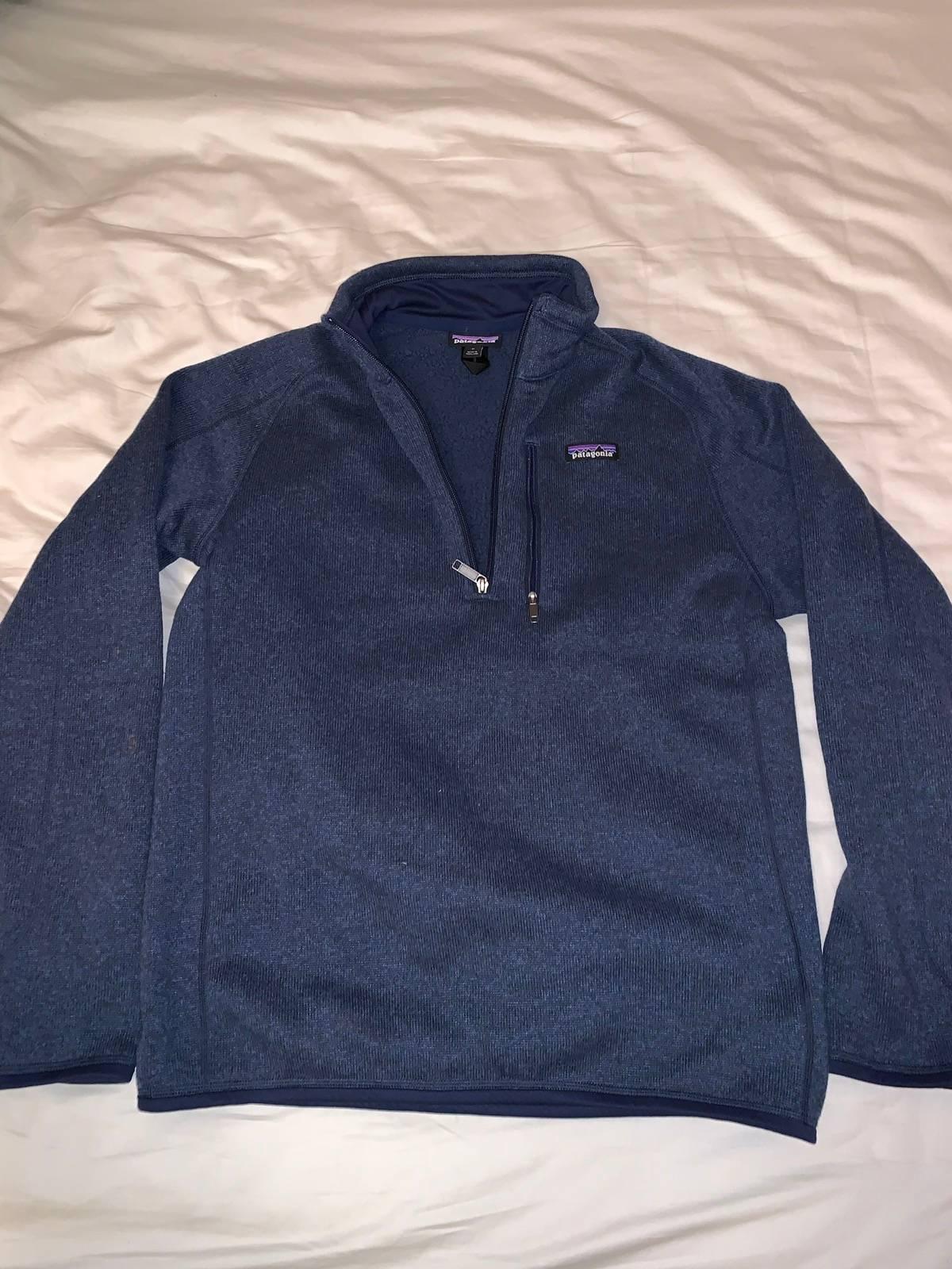 585d397a63a68 Patagonia ×. Men s Better Sweater 1 4 Zip Fleece